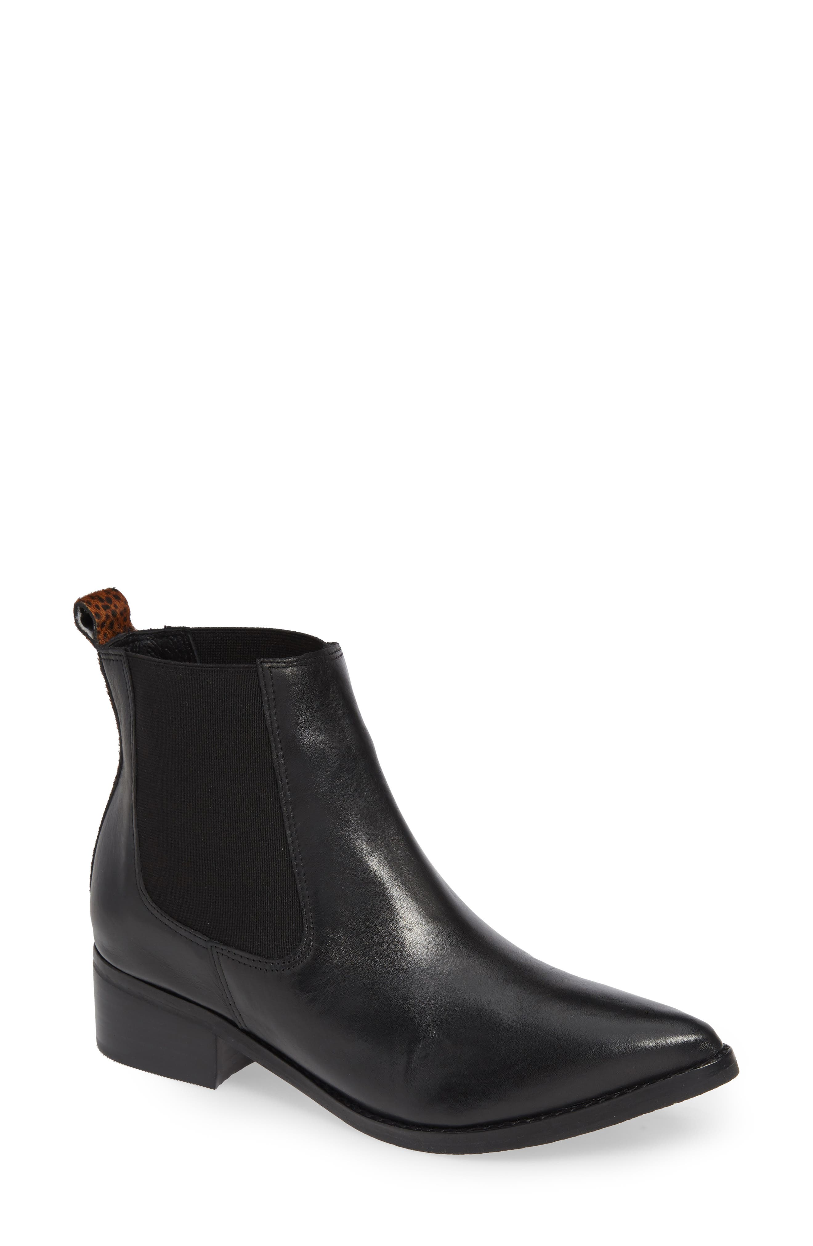 MATISSE Moscow Chelsea Boot in Black Leather