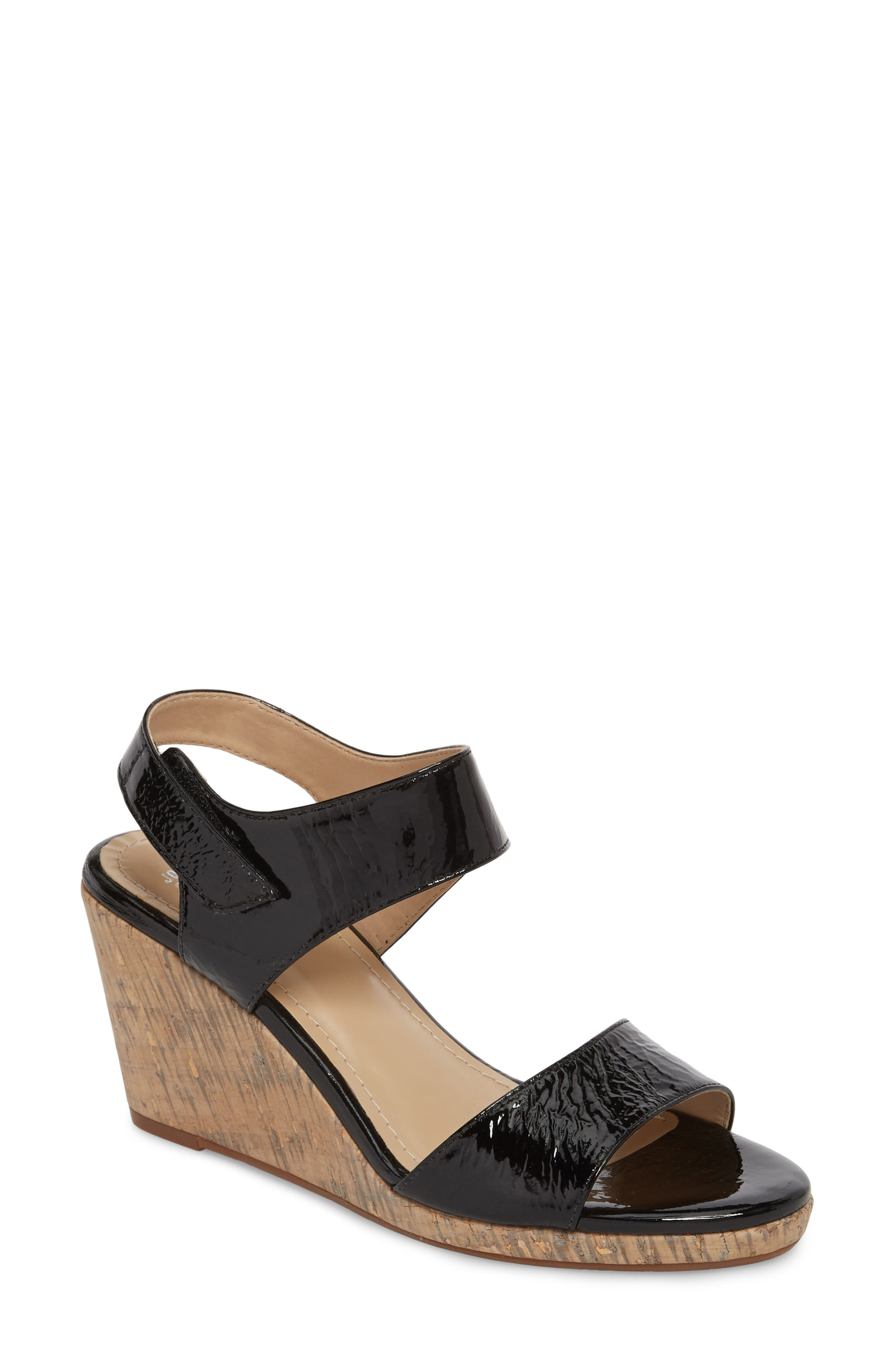 Glenna Wedge Sandal,                         Main,                         color,