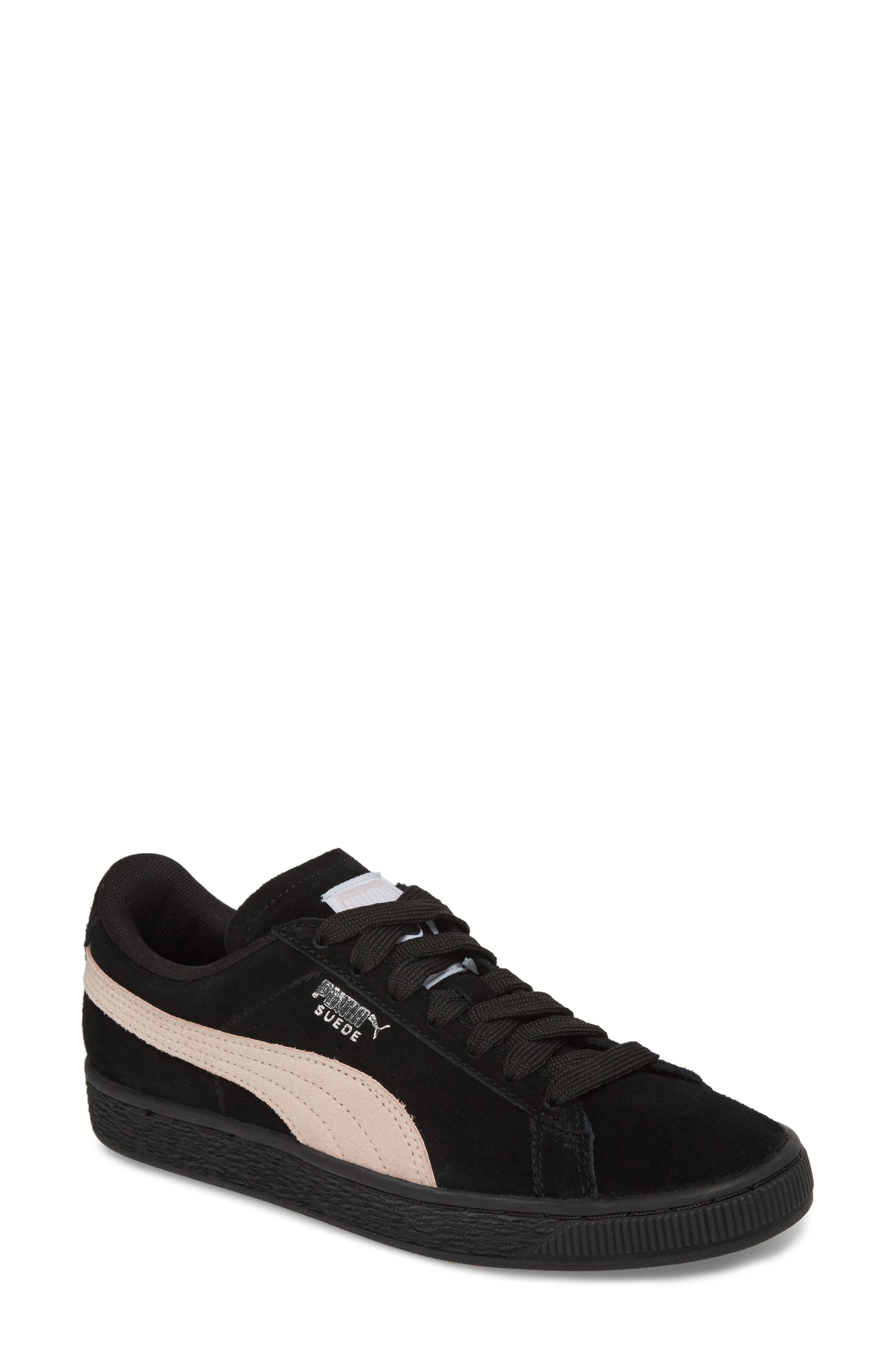 Suede Sneaker,                             Main thumbnail 1, color,