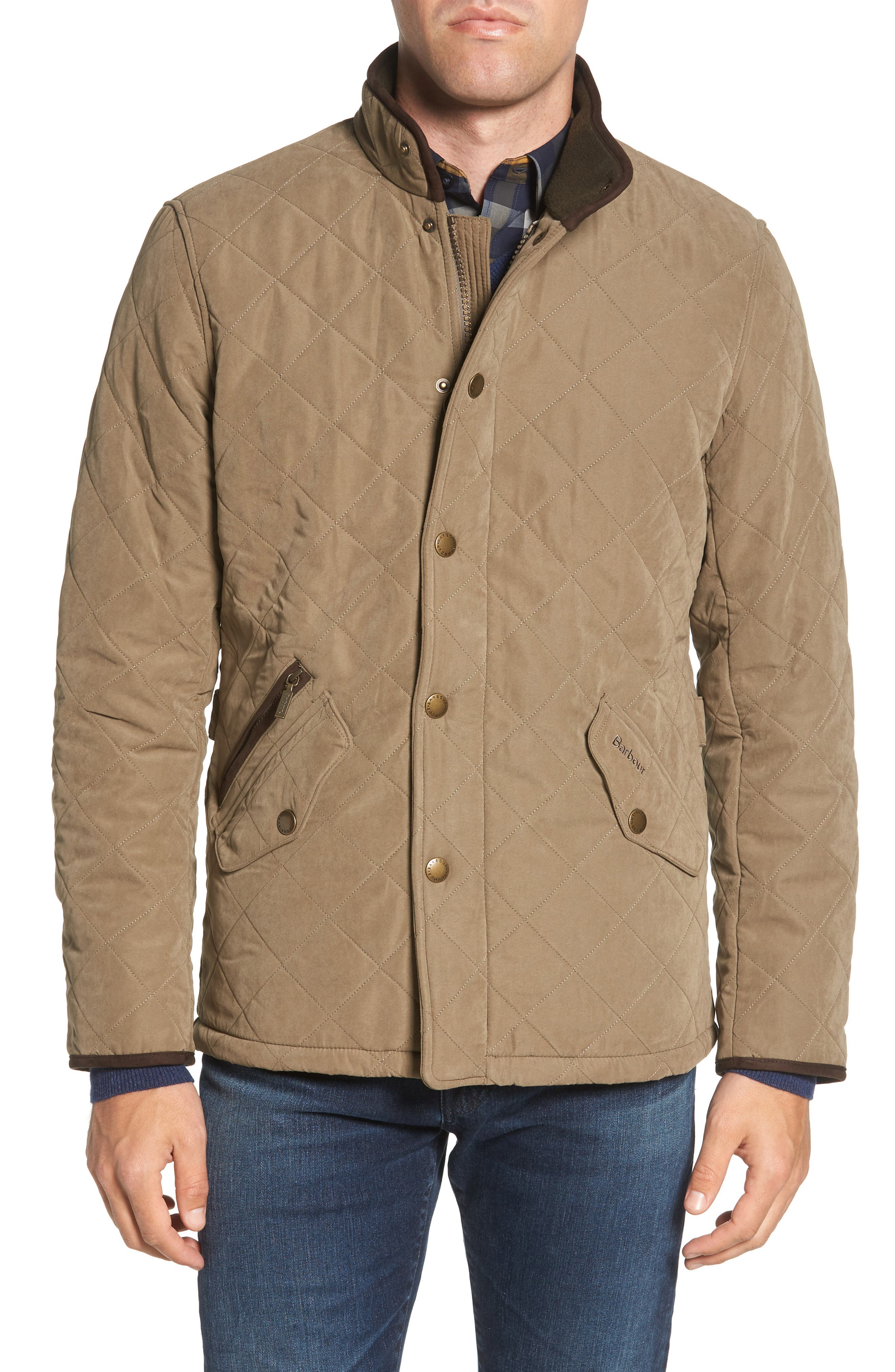 Bowden Quilted Jacket,                             Alternate thumbnail 4, color,                             LIGHT OLIVE