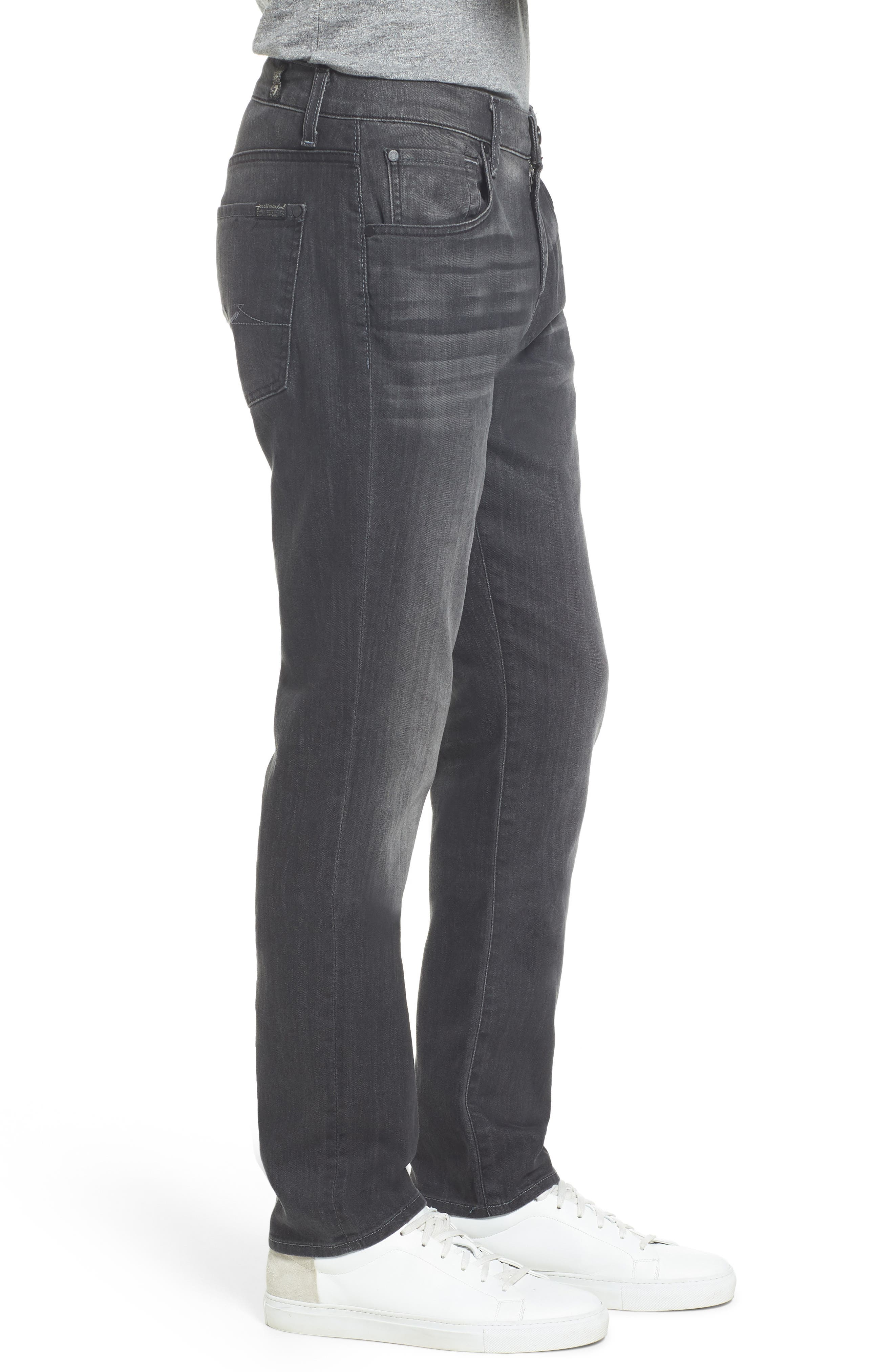 The Straight Slim Straight Leg Jeans,                             Alternate thumbnail 3, color,                             021