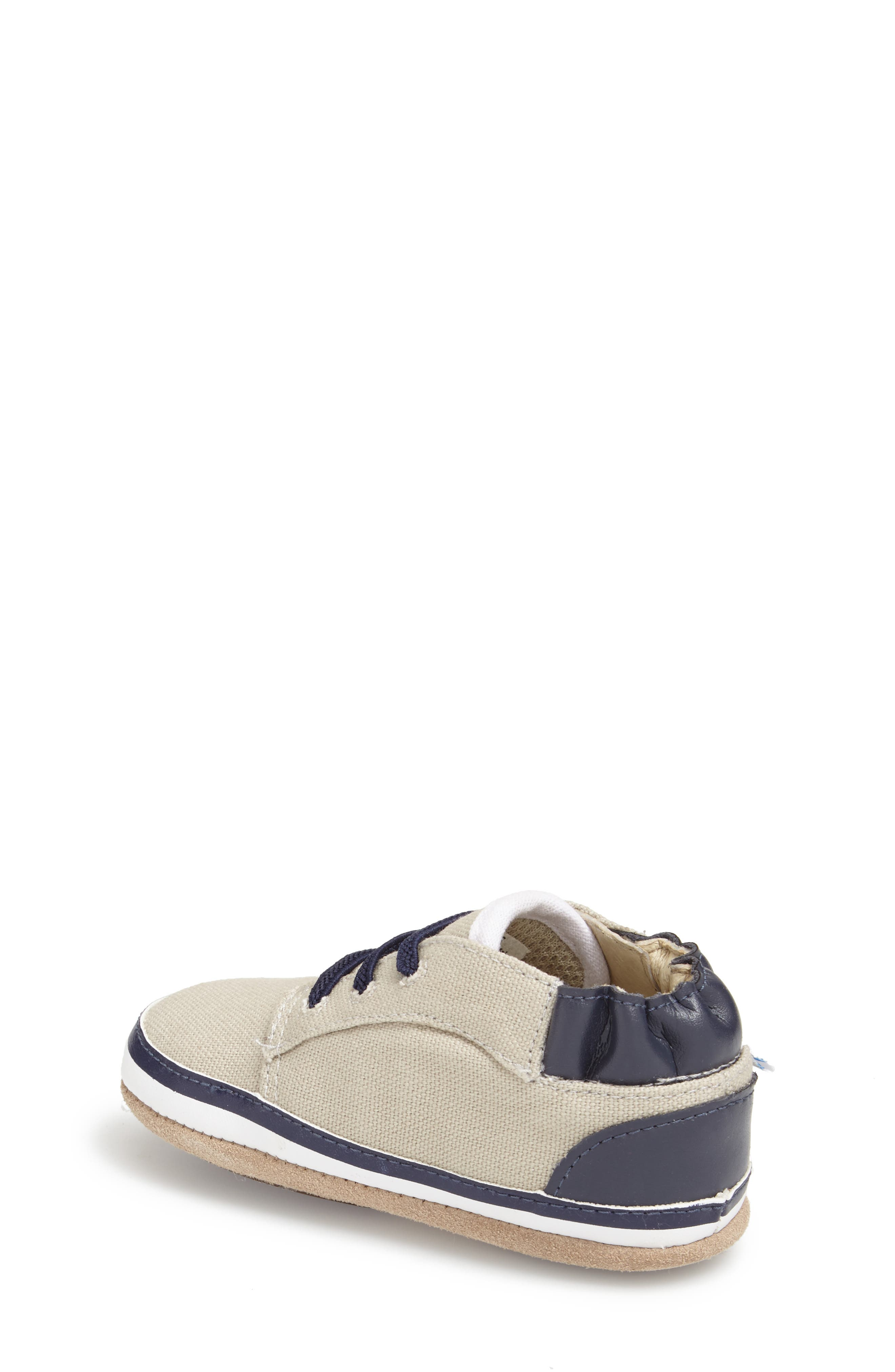 'Tyler Low Top' Crib Shoe,                             Alternate thumbnail 4, color,                             250
