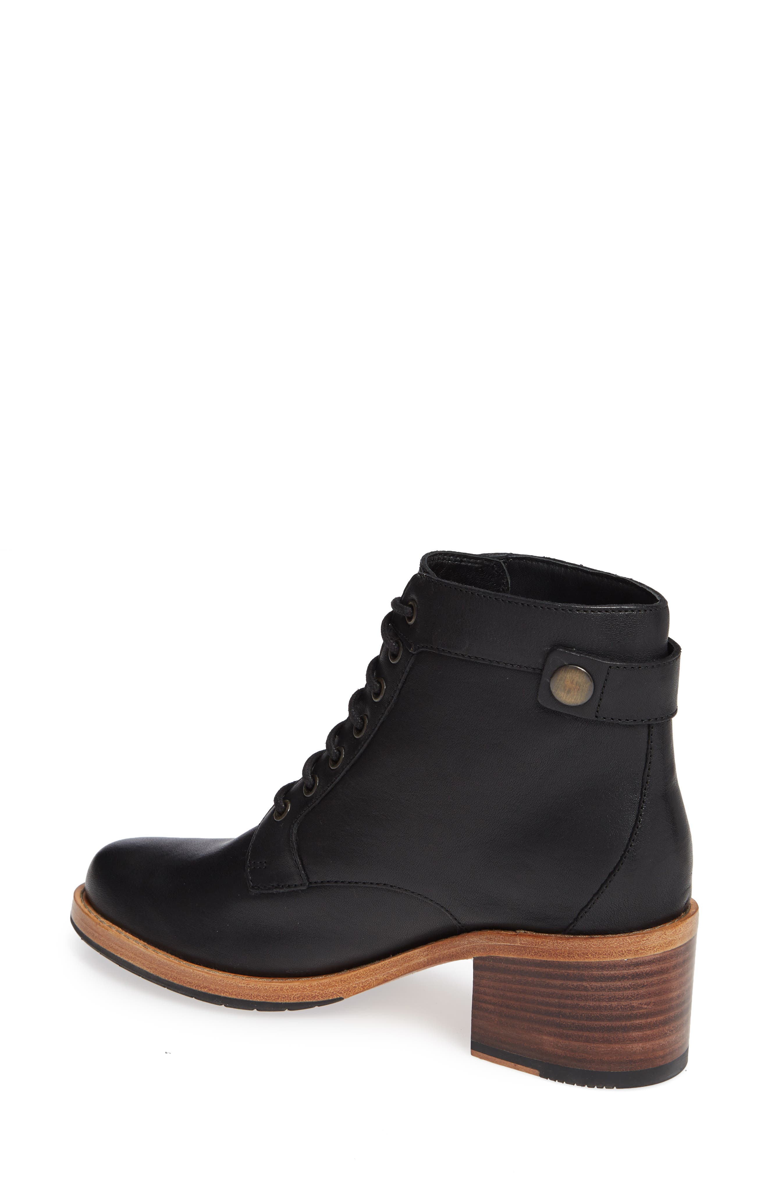 Clarkdale Tone Boot,                             Alternate thumbnail 2, color,                             BLACK LEATHER