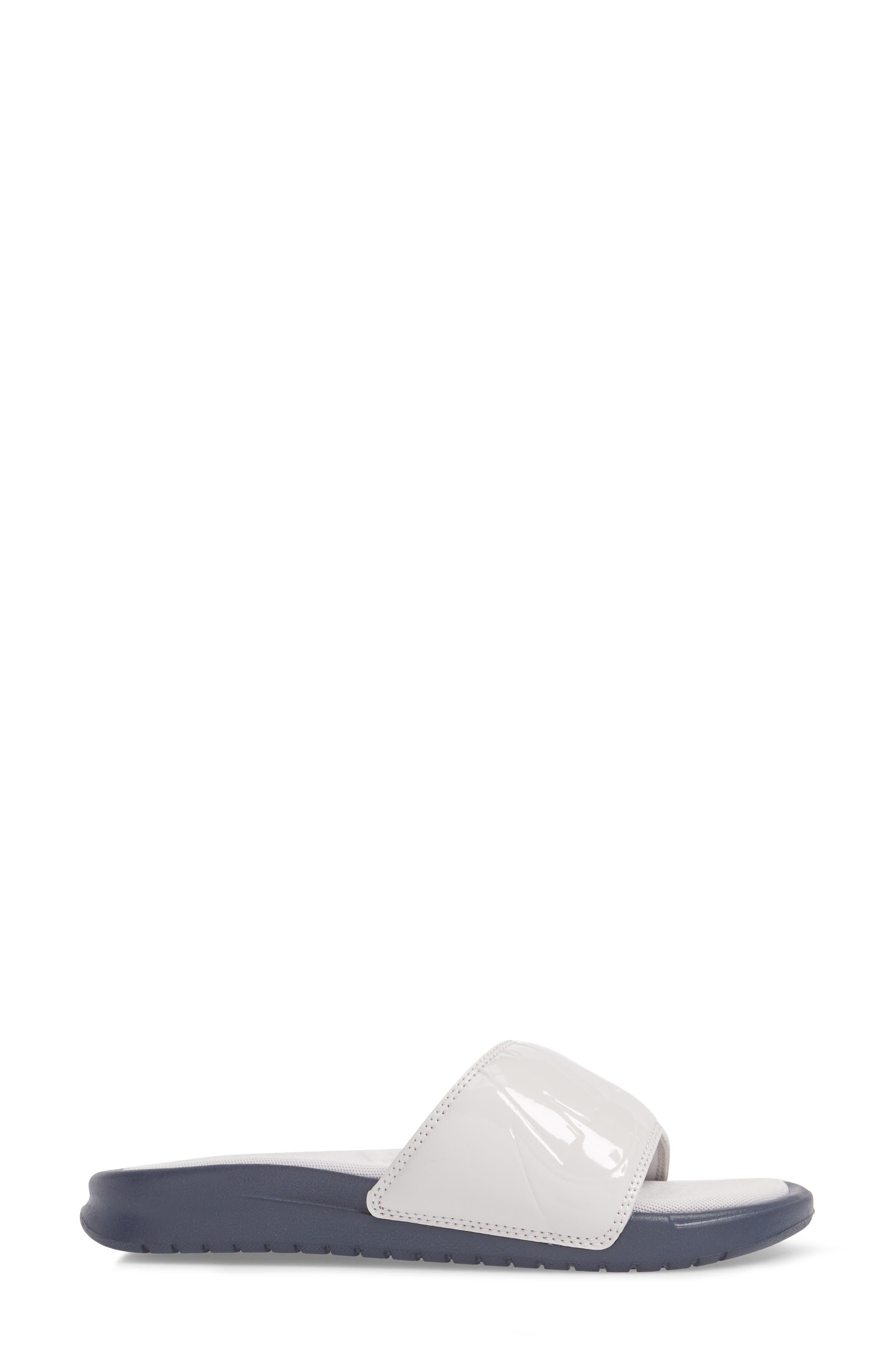 Benassi JDI Ultra Sport Slide,                             Alternate thumbnail 3, color,                             VAST GREY/ VAST GREY/ OBSIDIAN