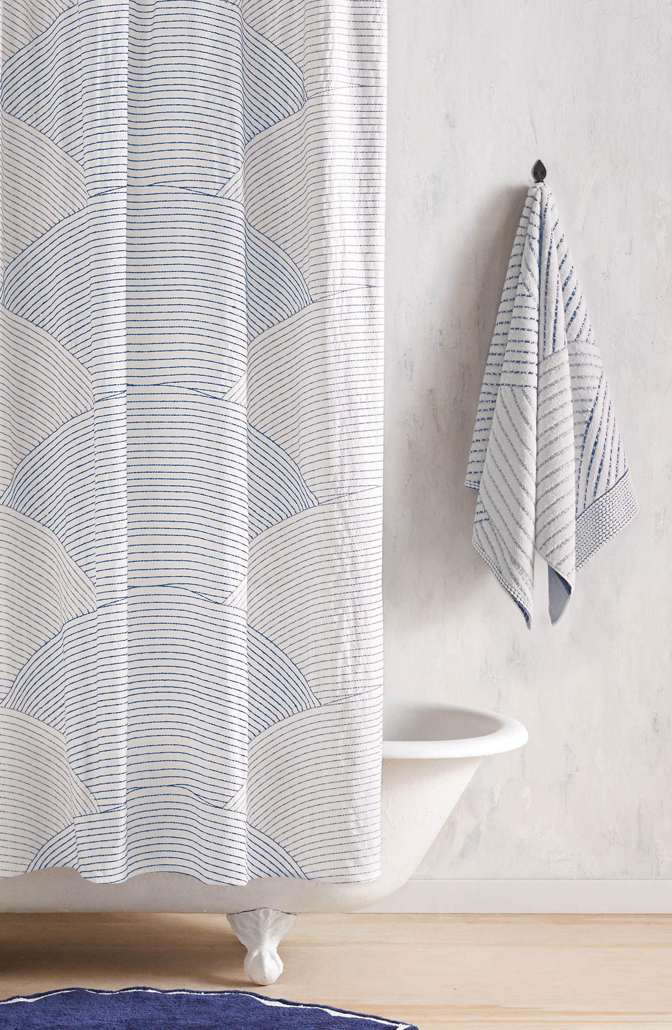 Sazid Shower Curtain,                             Main thumbnail 1, color,                             400