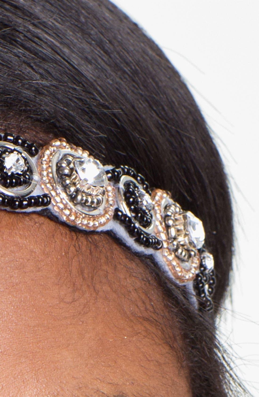 Embellished Headband,                             Alternate thumbnail 2, color,                             001