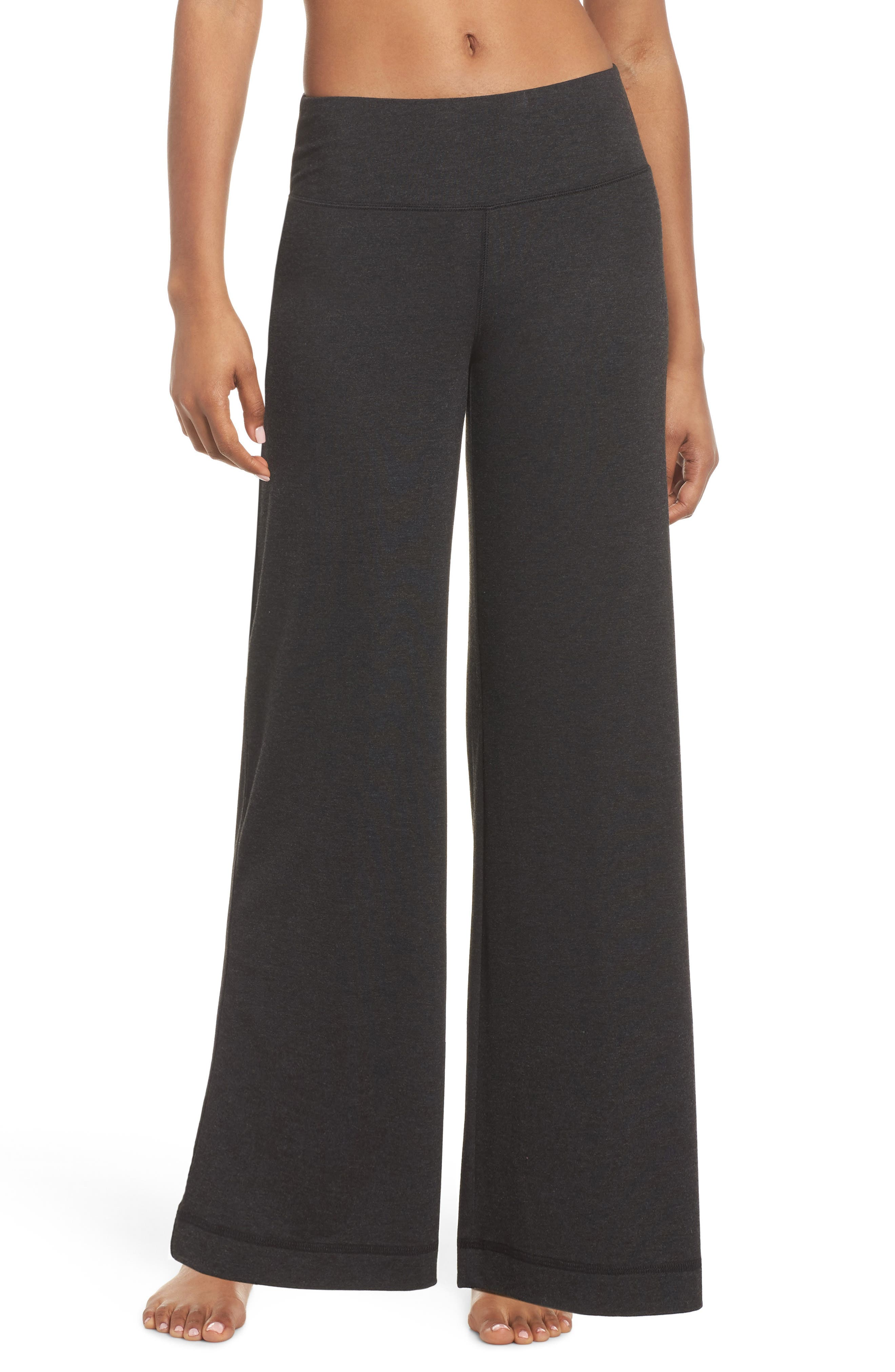 Go With The Flow Pants,                             Main thumbnail 1, color,                             GREY DARK CHARCOAL HEATHER
