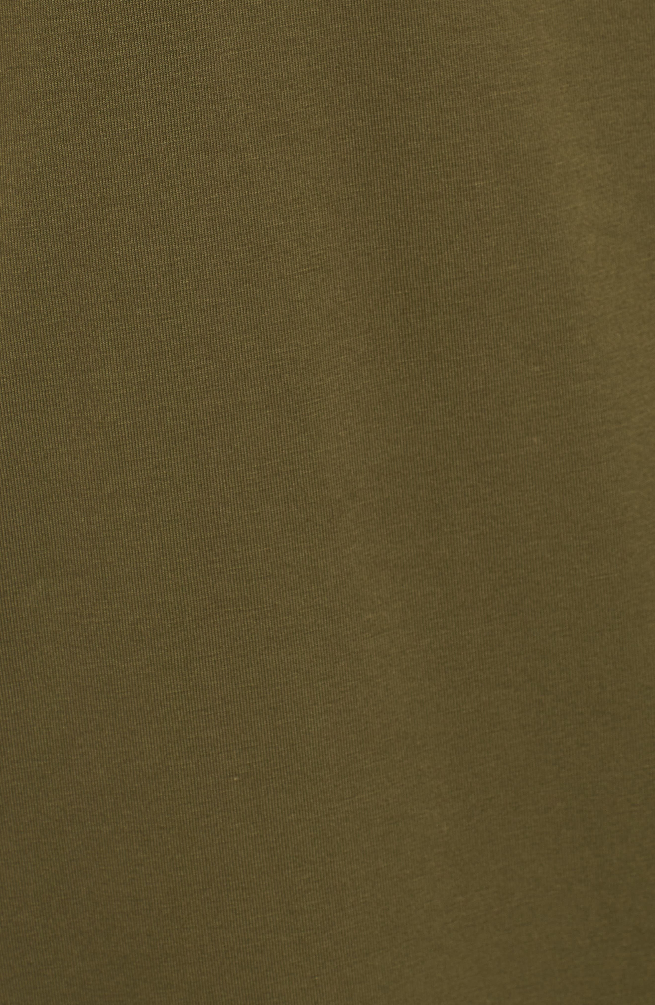 Stretch Organic Cotton Jersey Tunic,                             Alternate thumbnail 30, color,
