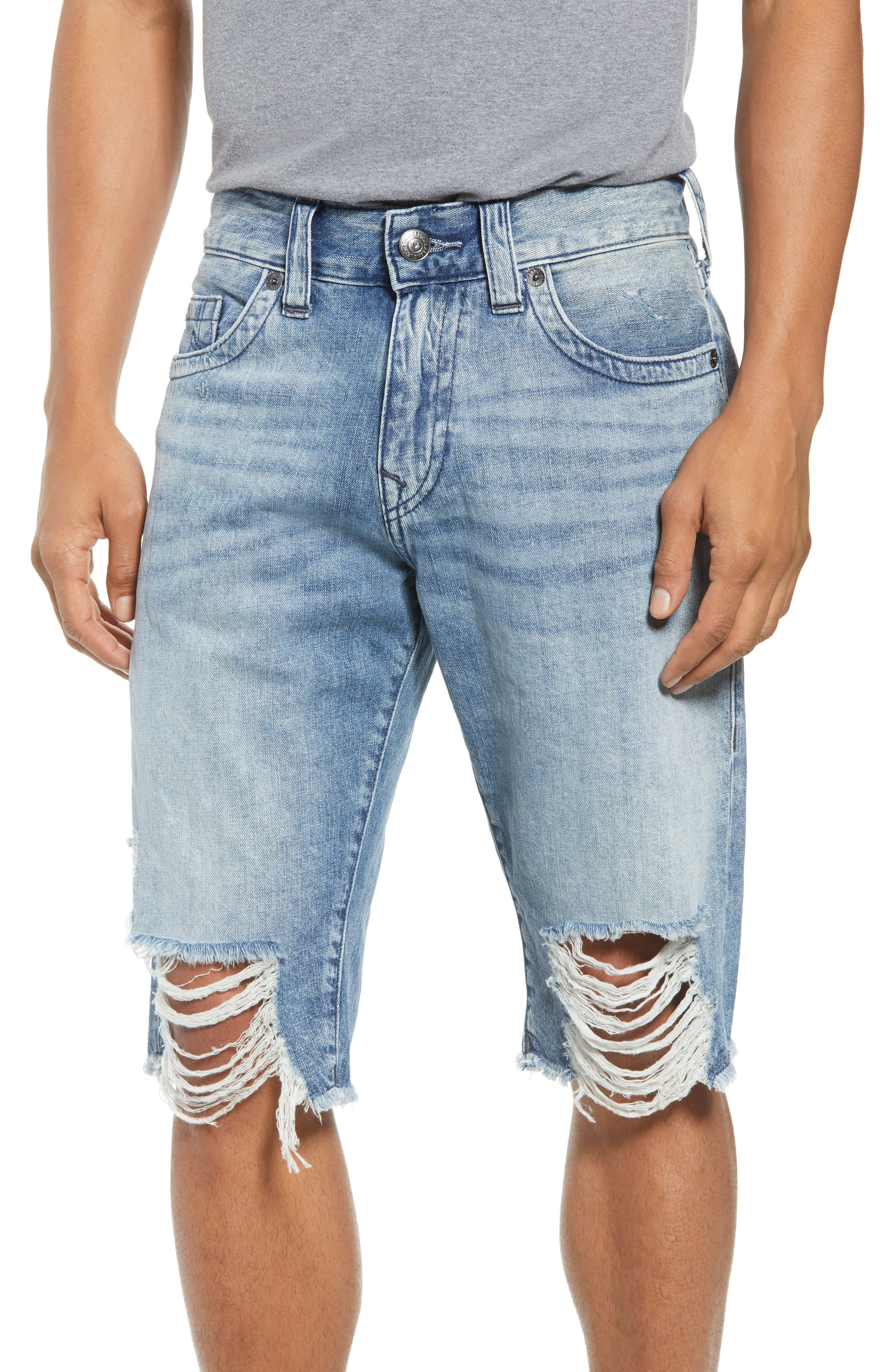 Ricky Relaxed Fit Shorts,                             Main thumbnail 1, color,                             SOLAR BLUE