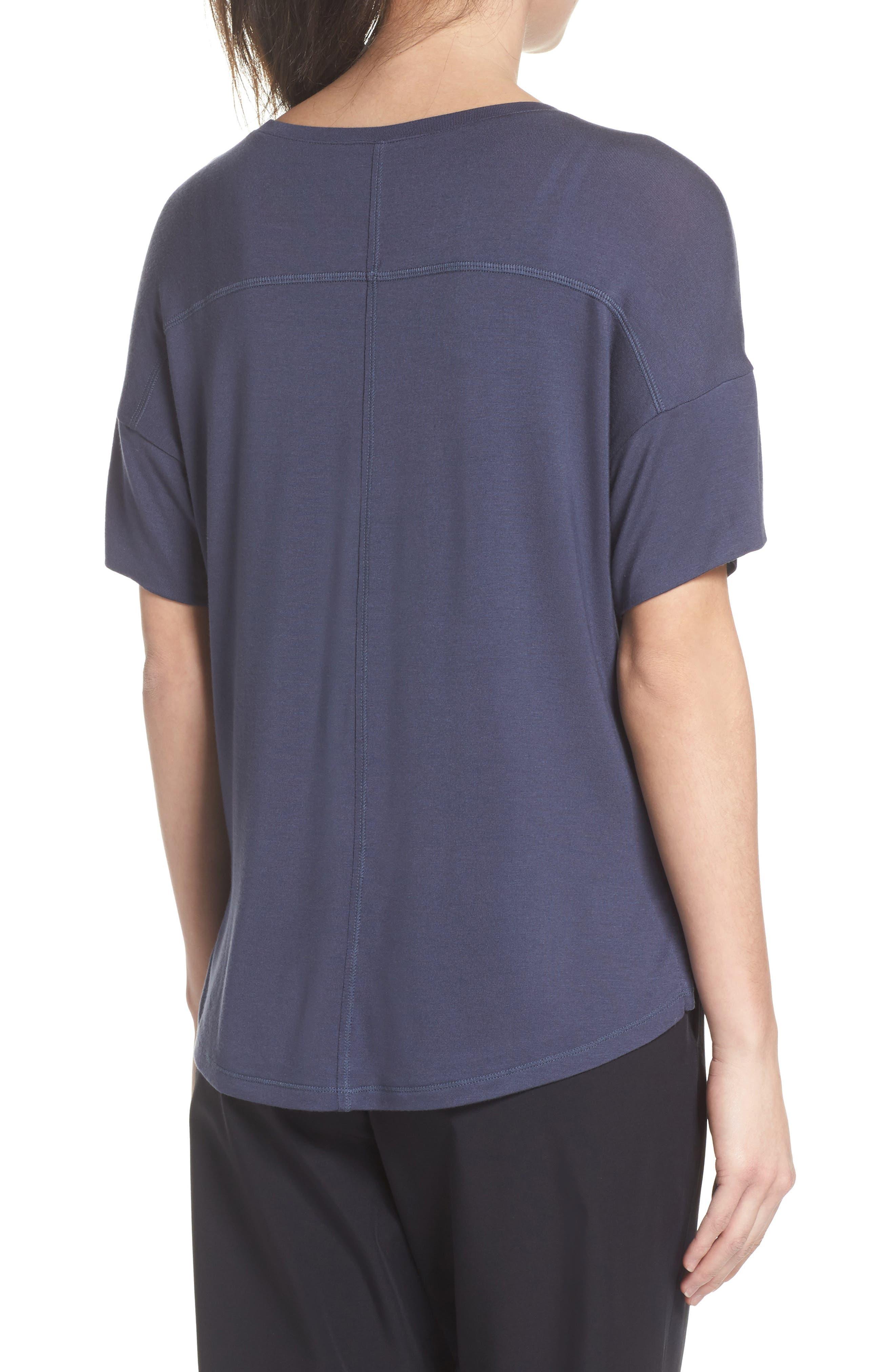 ZELLA,                             New Energy T-Shirt,                             Alternate thumbnail 2, color,                             GREY SLATE