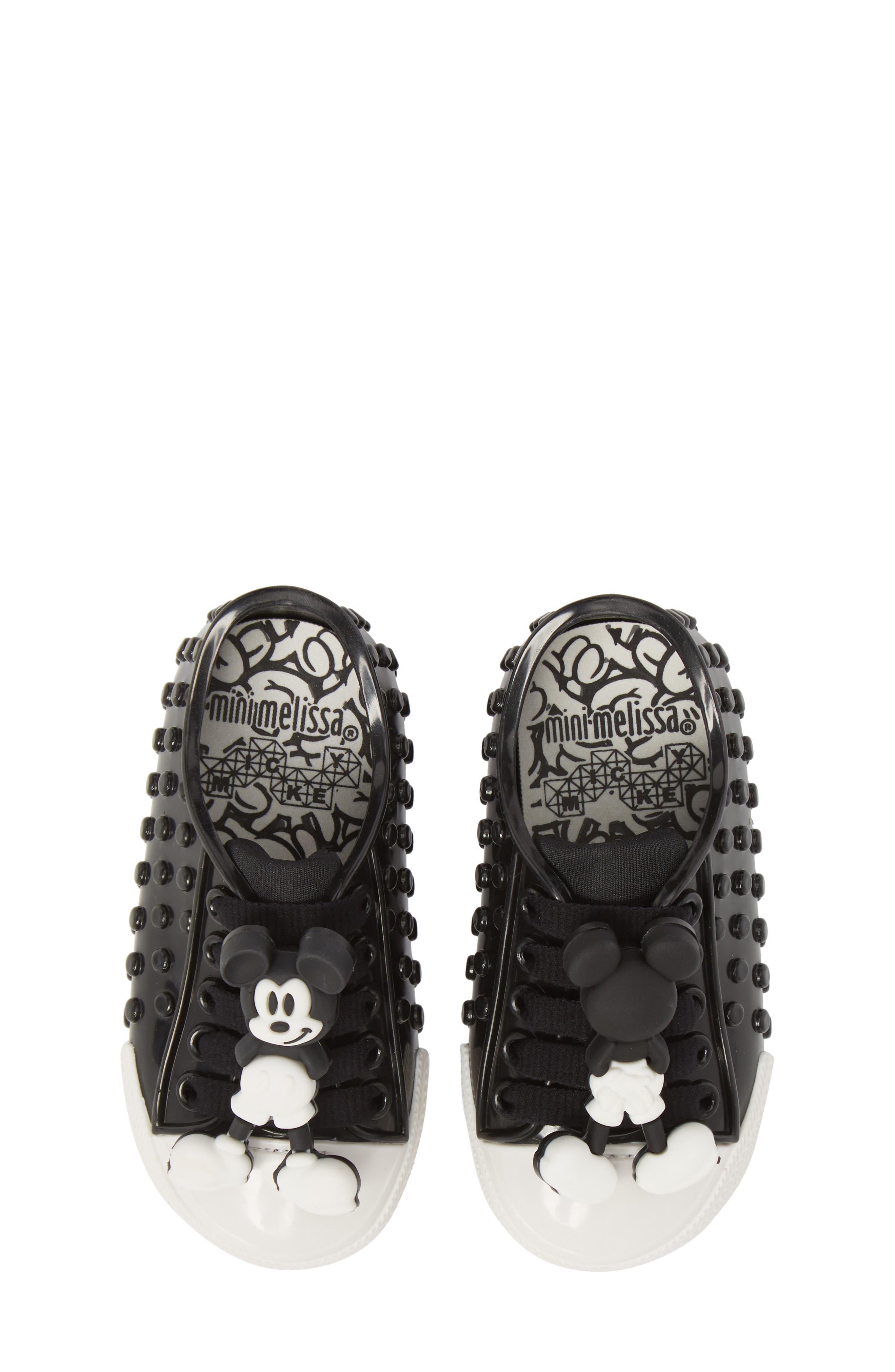 Polibolha Disney's Mickey Mouse<sup>®</sup> Sneaker,                             Main thumbnail 1, color,                             001