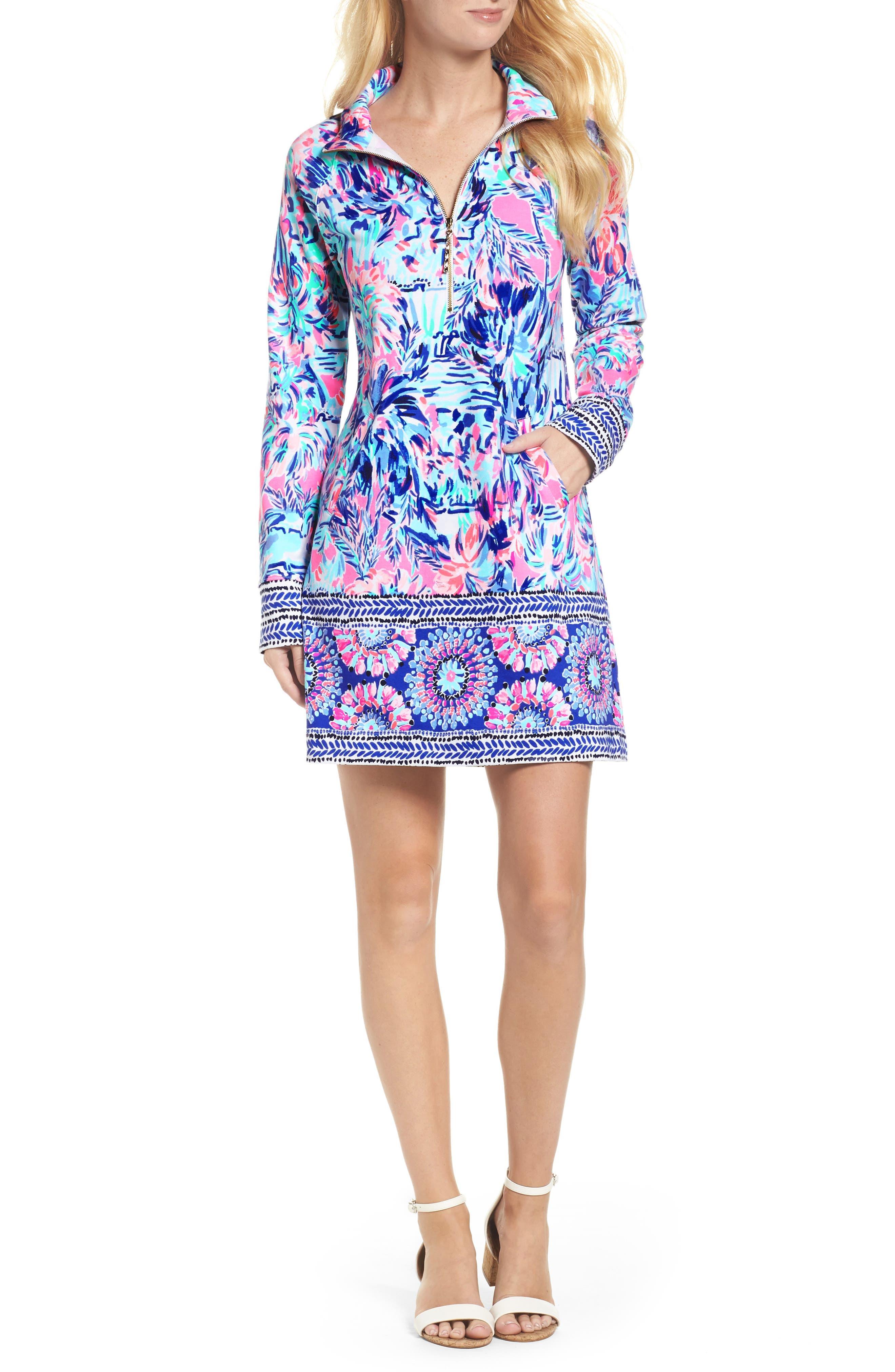 Skipper UPF 50+ Dress,                             Main thumbnail 1, color,                             699