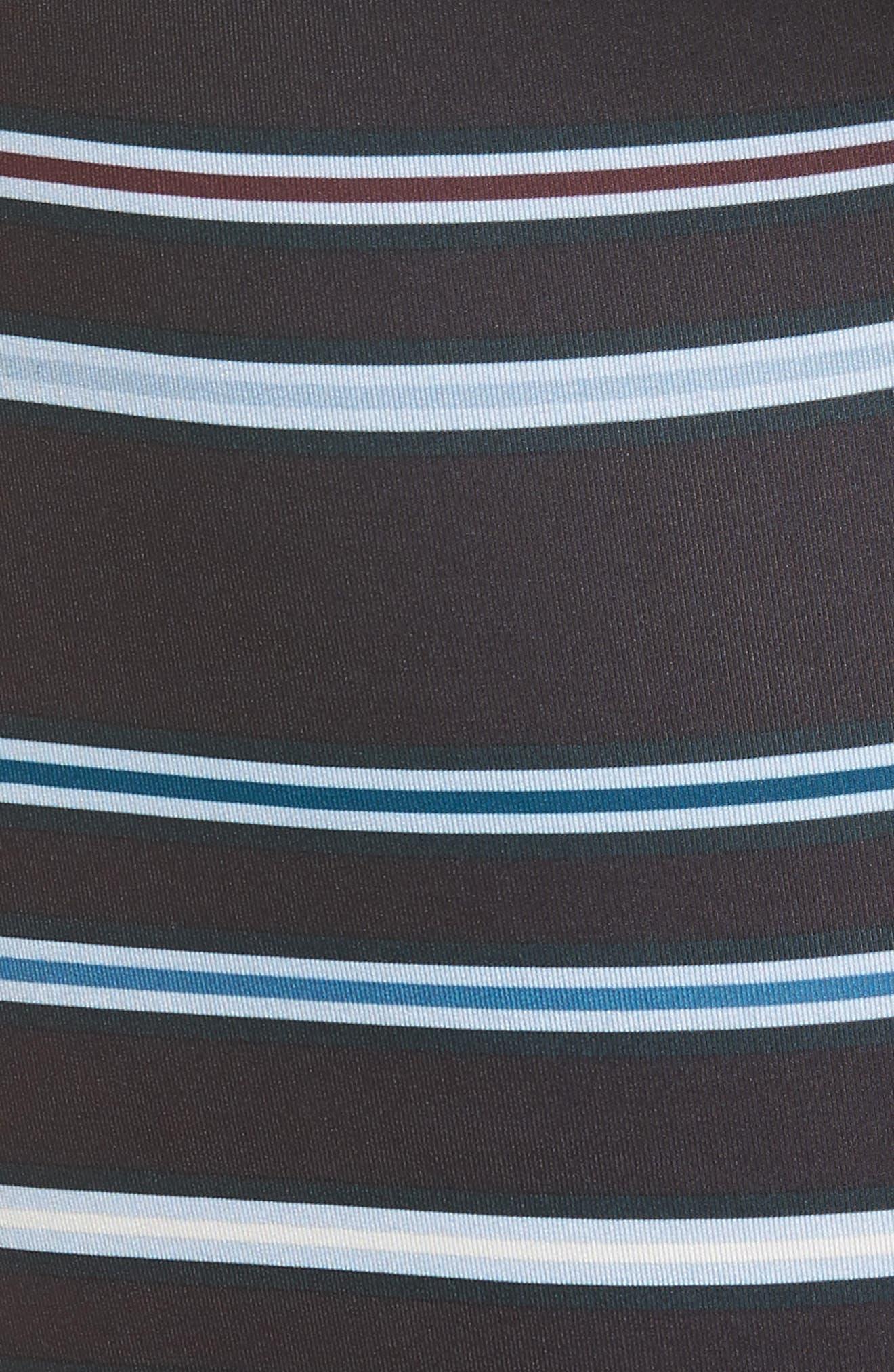 Beyond Striped Boxer Briefs,                             Alternate thumbnail 5, color,                             BLACK