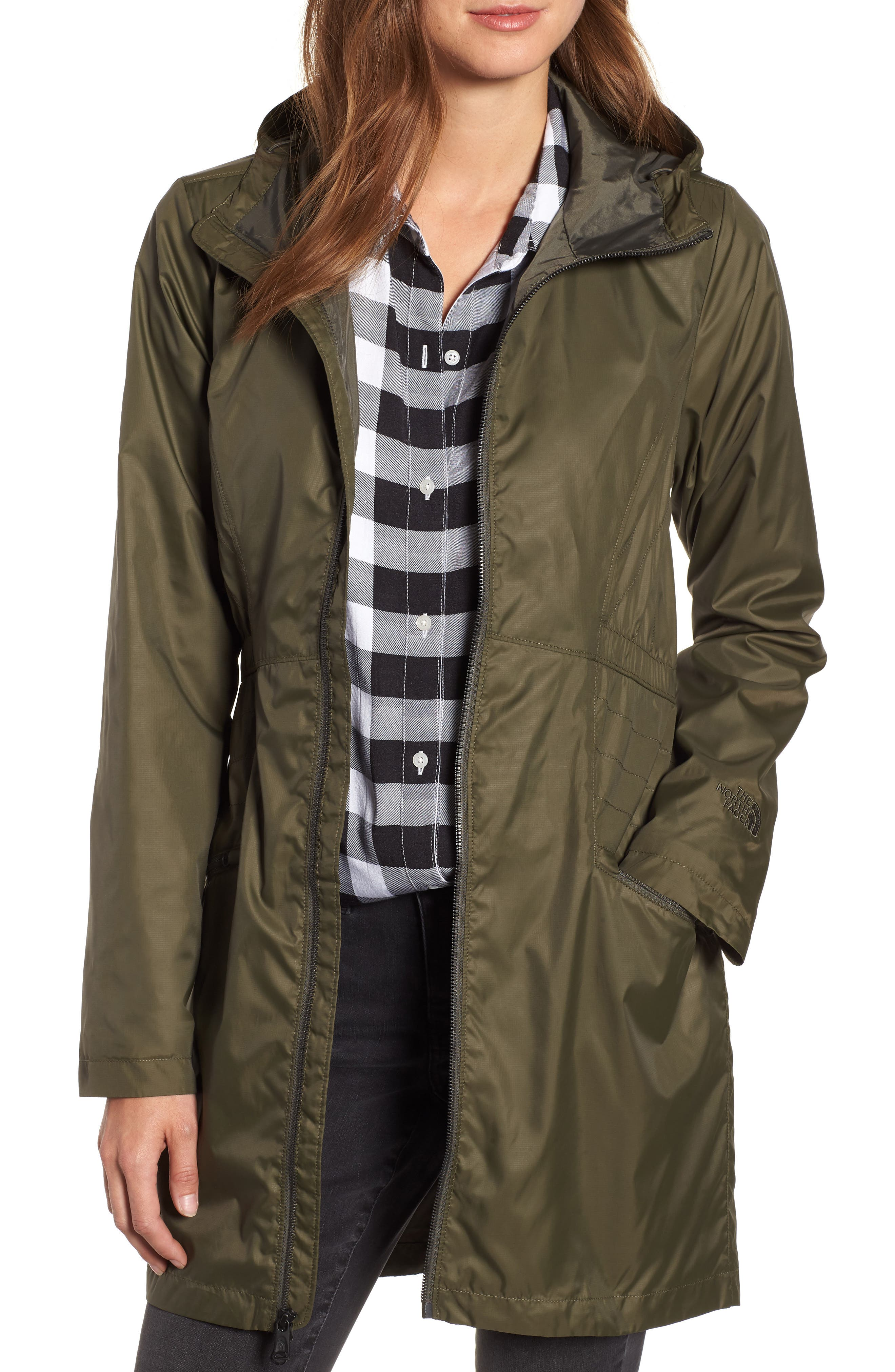 The North Face Rissy 2 Wind Resistant Jacket, Green