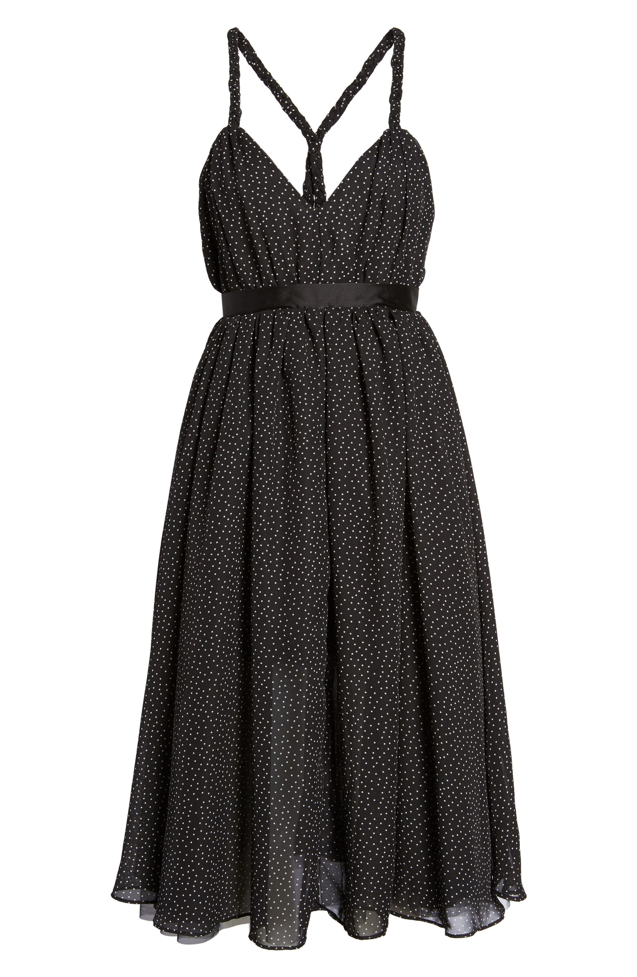 The Marilyn Midi Dress,                             Alternate thumbnail 6, color,                             009