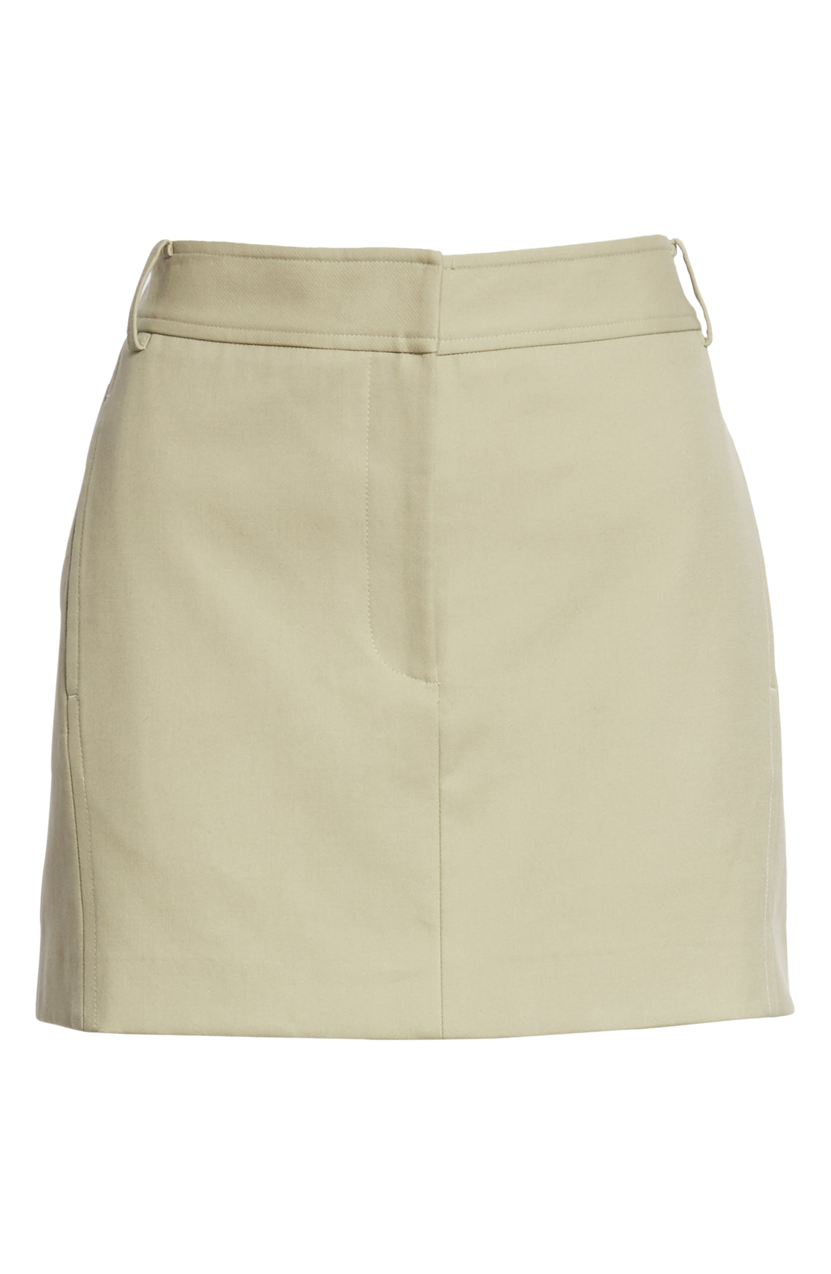TIBI,                             Margaux Miniskirt,                             Alternate thumbnail 6, color,                             310