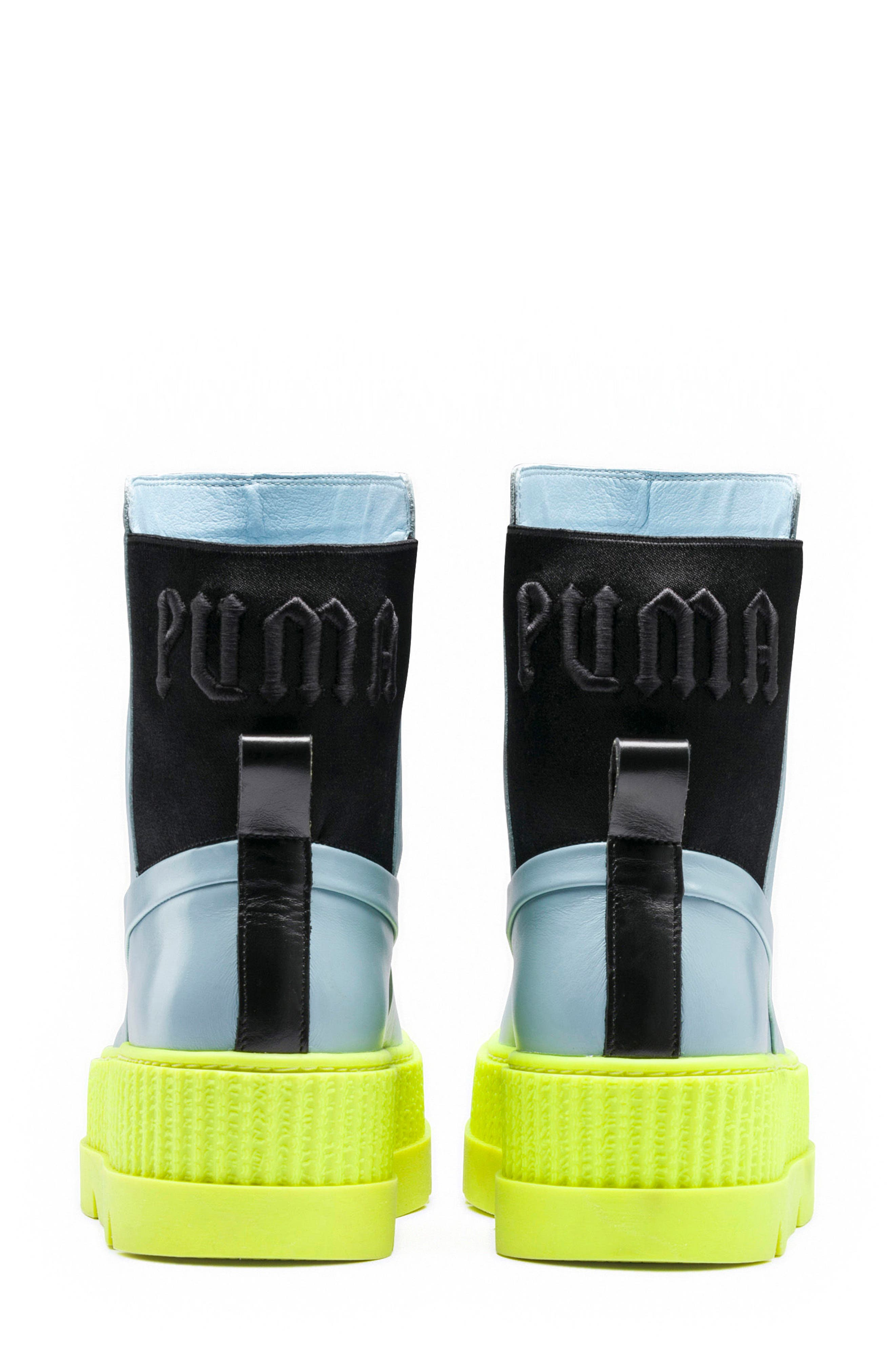 FENTY PUMA by Rihanna Chelsea Boot Creeper Sneaker,                             Alternate thumbnail 6, color,