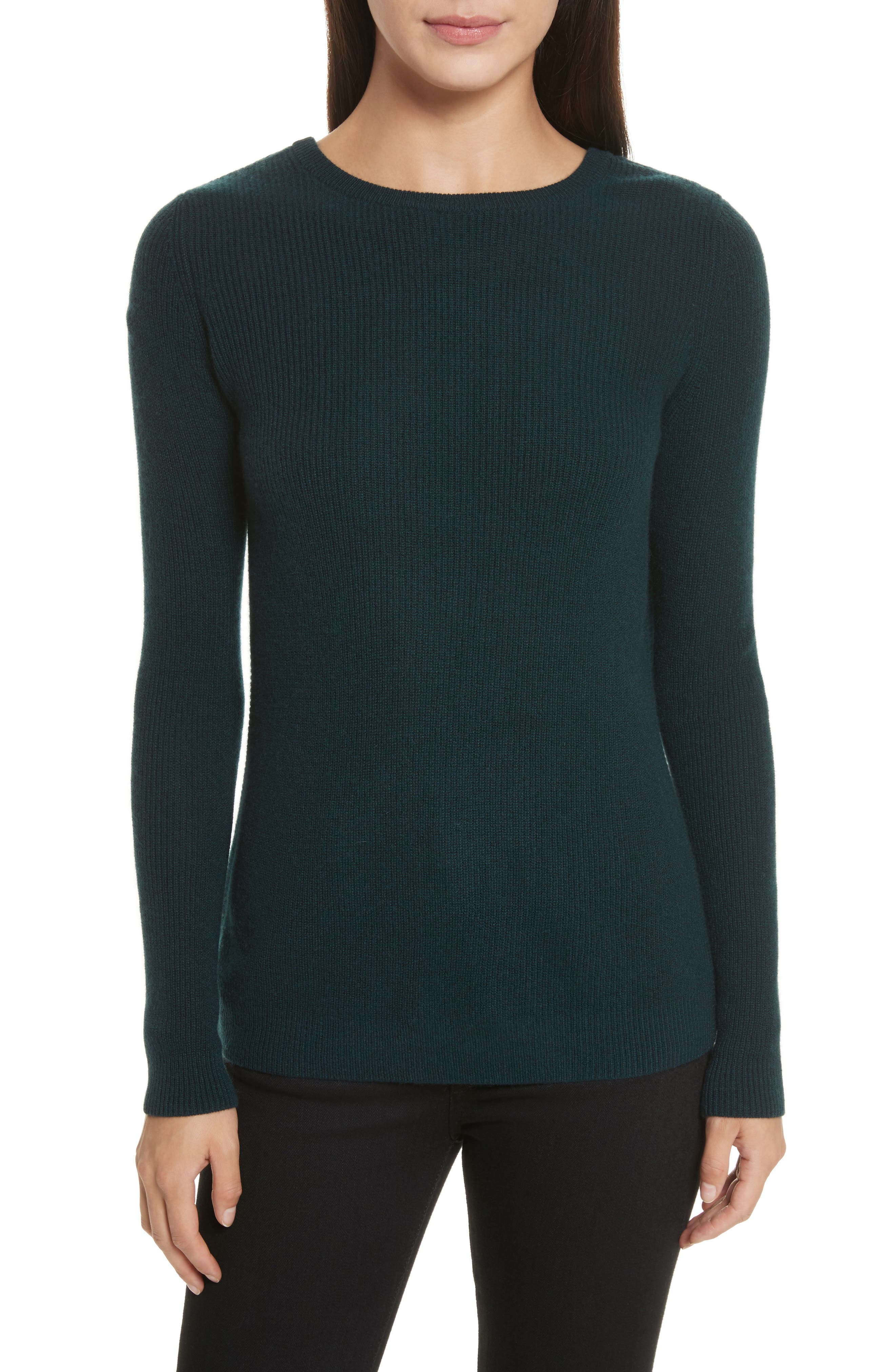 Cashmere Reversible Surplice Sweater,                             Main thumbnail 1, color,                             232
