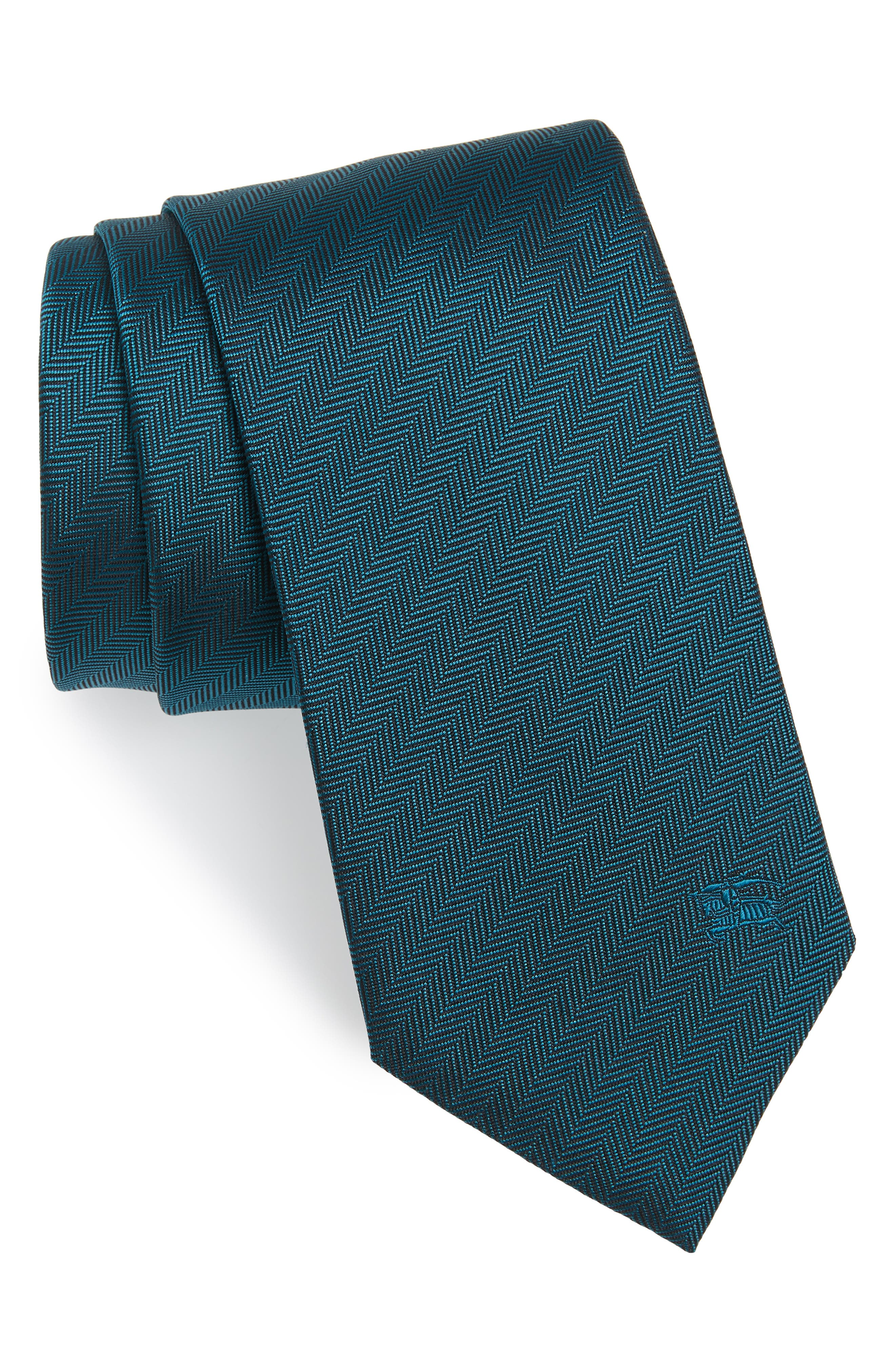Herringbone Silk Tie,                             Main thumbnail 1, color,                             452