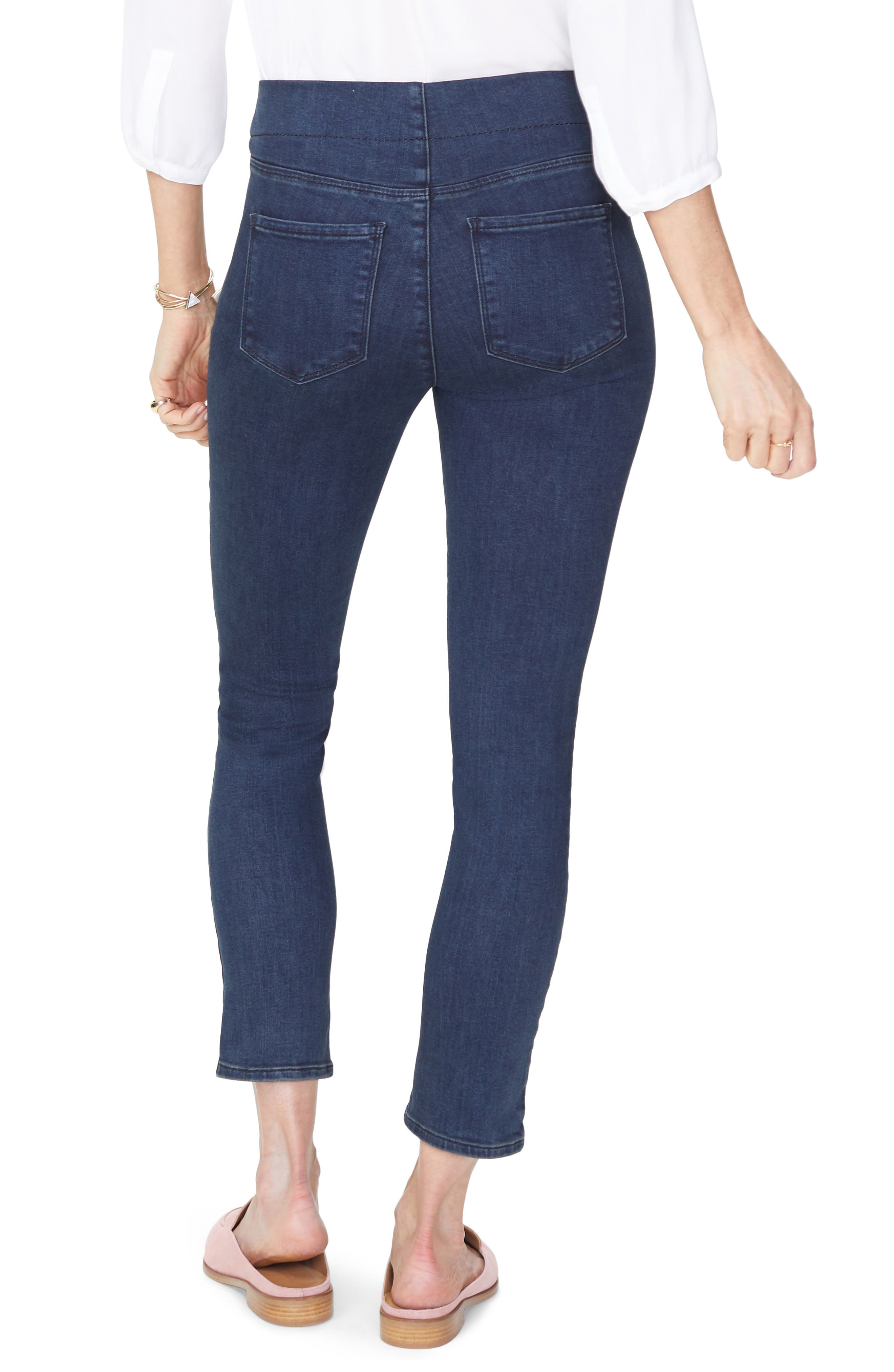 NYDJ,                             Pull-On Skinny Ankle Jeans,                             Alternate thumbnail 2, color,                             405