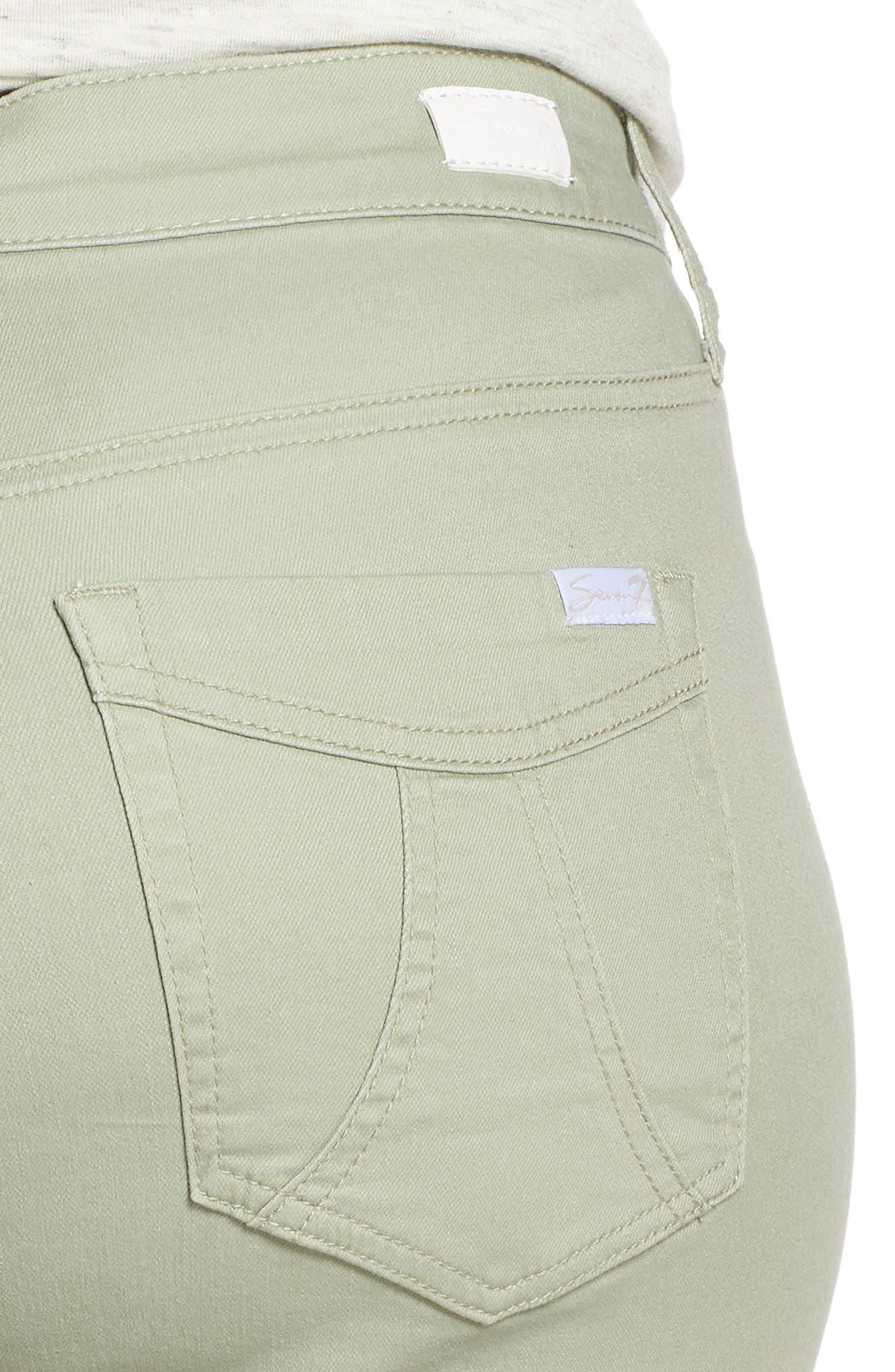 SEVEN7,                             Weekend Bermuda Shorts,                             Alternate thumbnail 5, color,                             SLATE GRAY