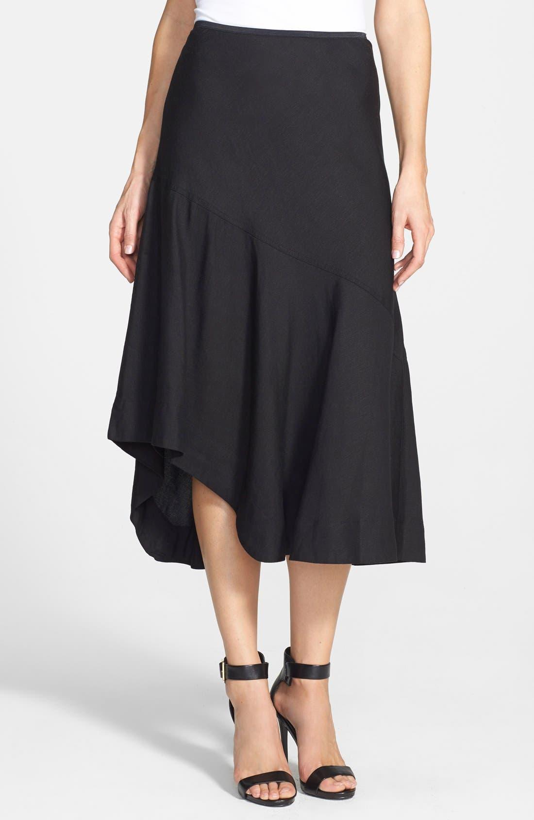 NIC+ZOE,                             'The Long Engagement' Midi Skirt,                             Main thumbnail 1, color,                             004