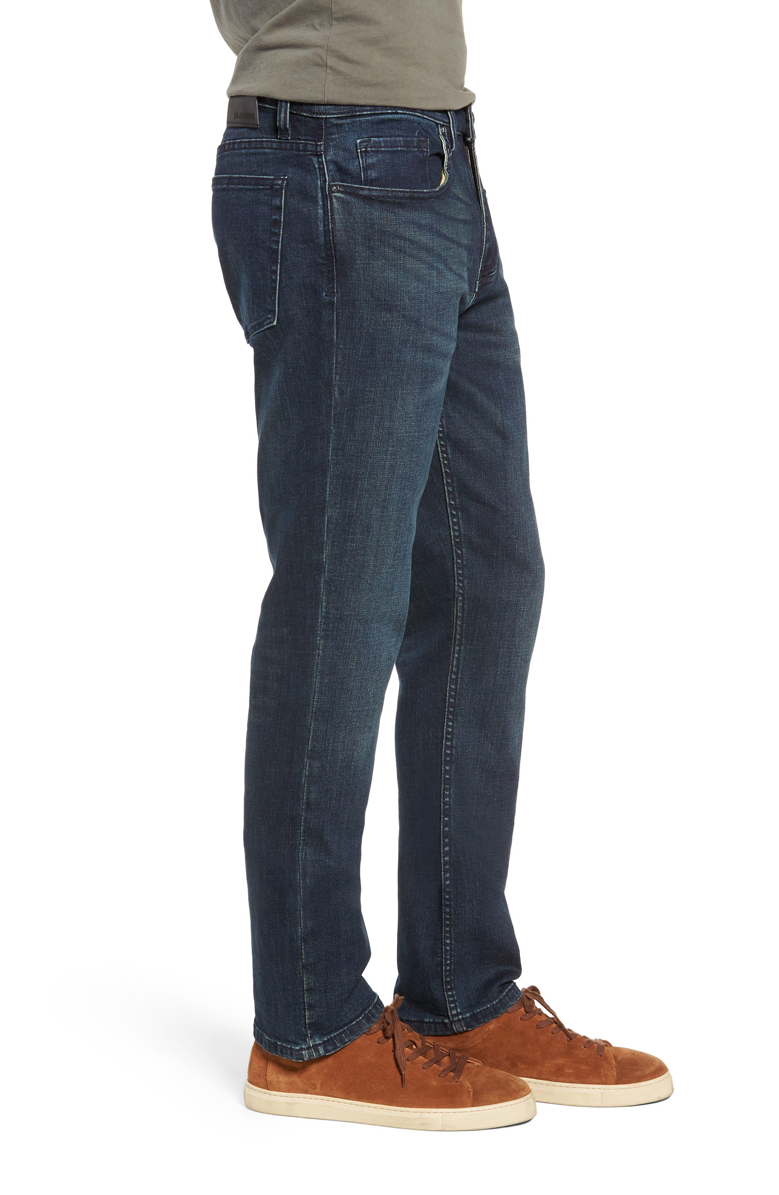 Stanton Straight Leg Jeans,                             Alternate thumbnail 3, color,                             WORTHLESS TENDENCY