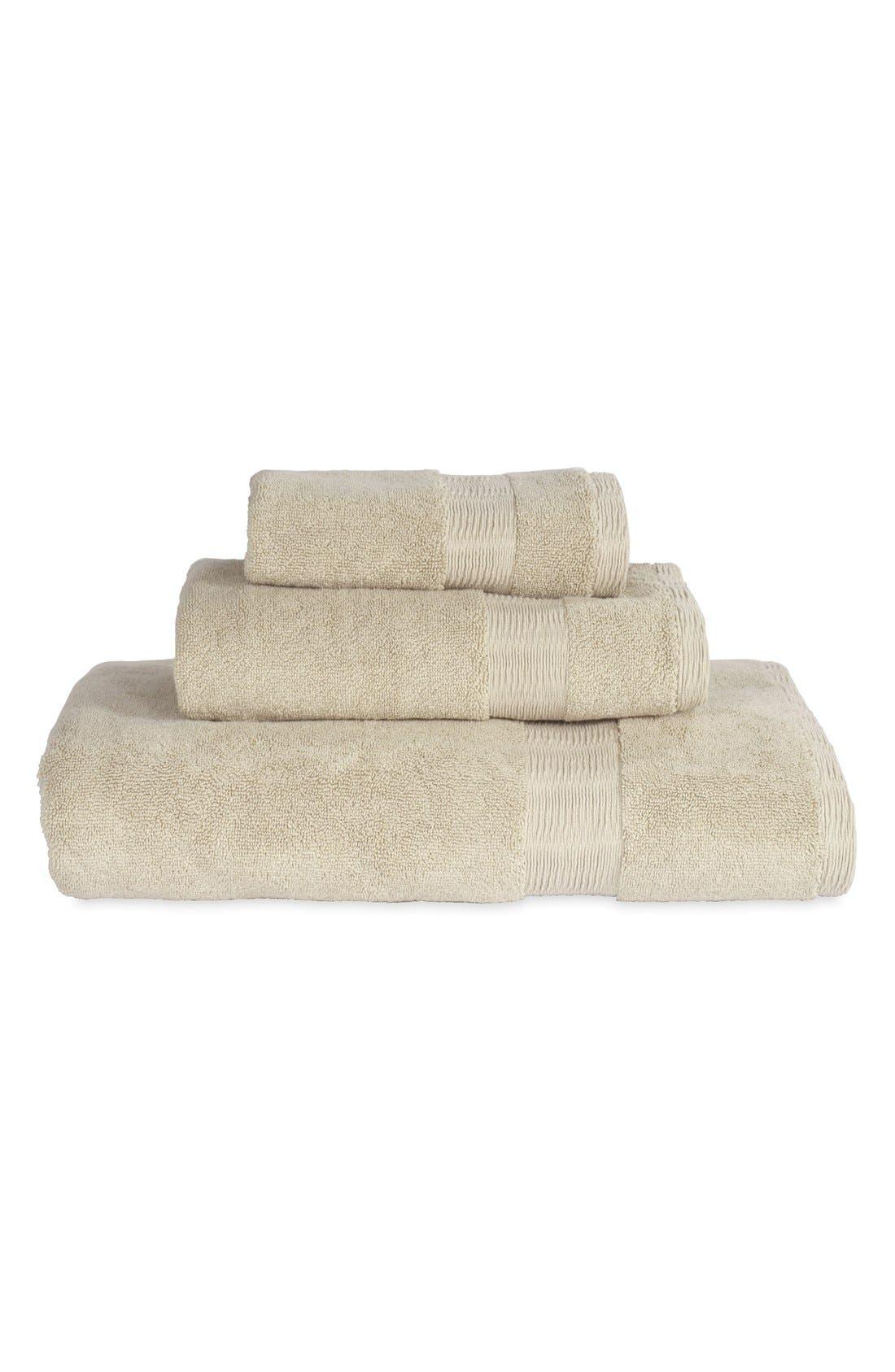 Mercer Hand Towel,                             Alternate thumbnail 3, color,                             STONE