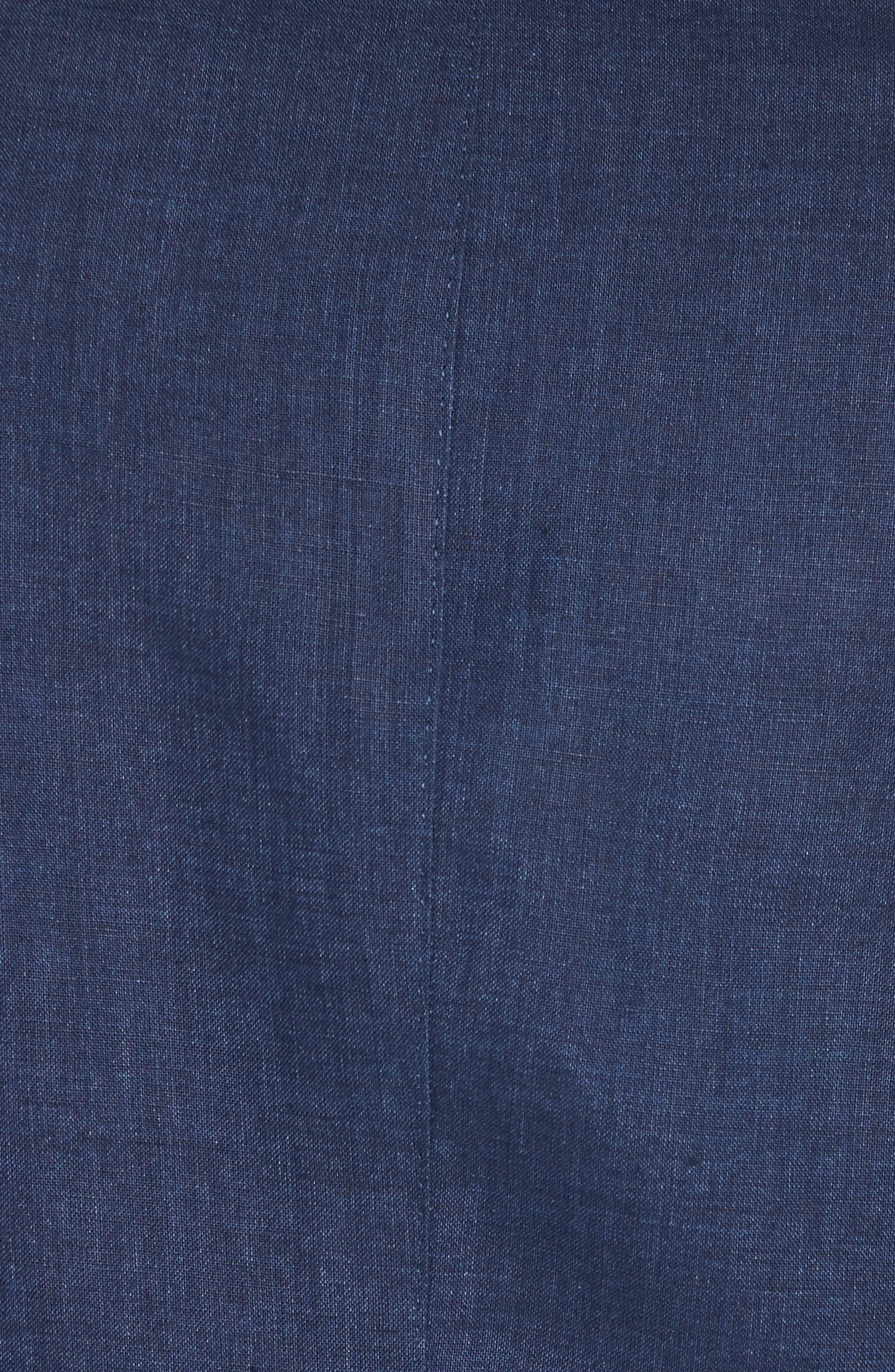 Jack AIM Classic Fit Linen Blazer,                             Alternate thumbnail 6, color,                             NAVY