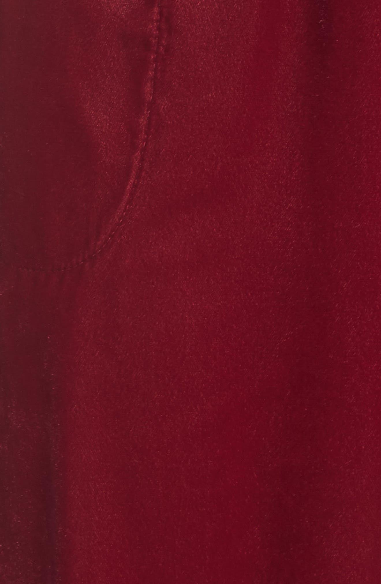 Velvet Pajama Pants,                             Alternate thumbnail 15, color,