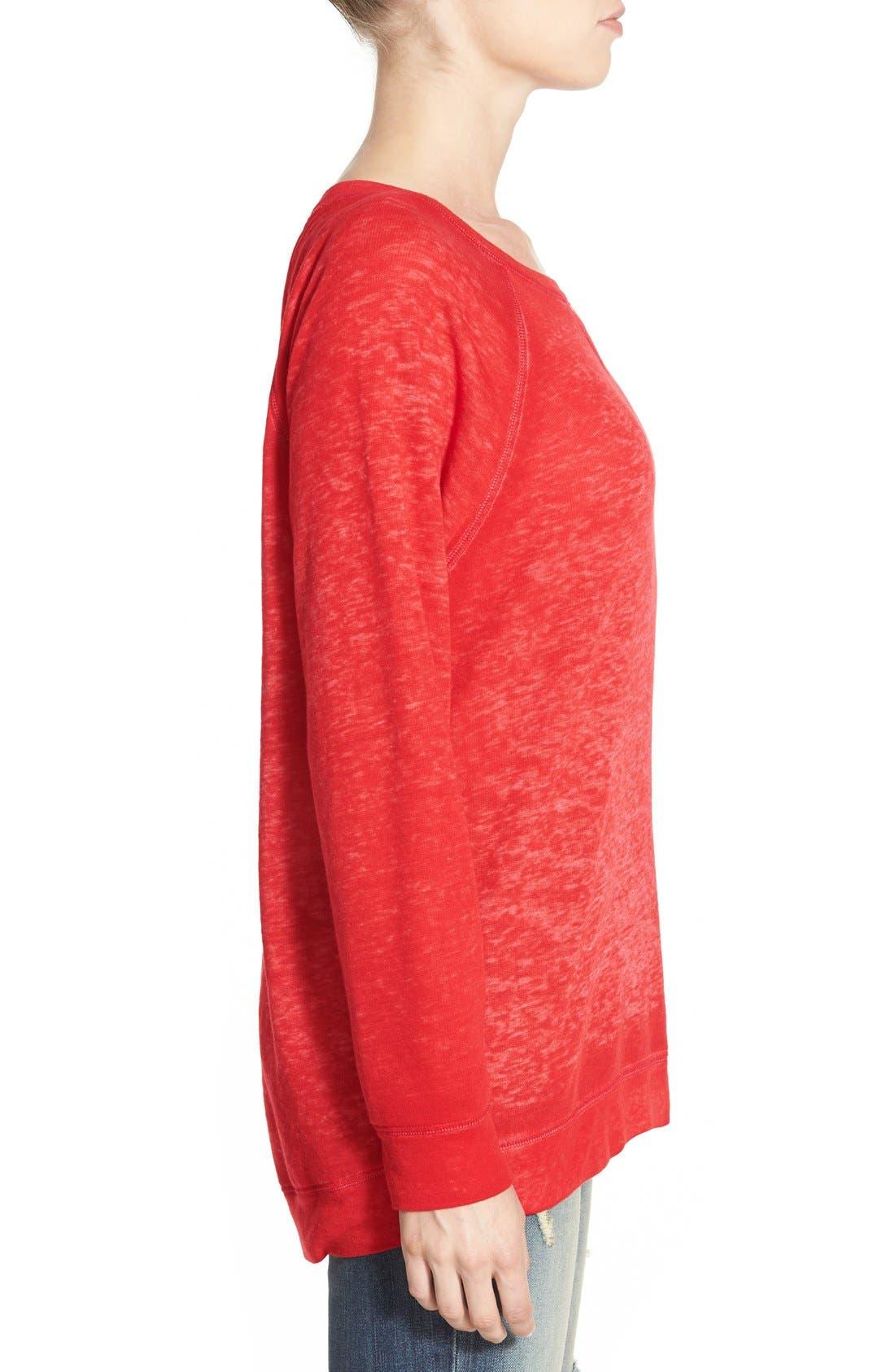 Burnout Sweatshirt,                             Alternate thumbnail 95, color,