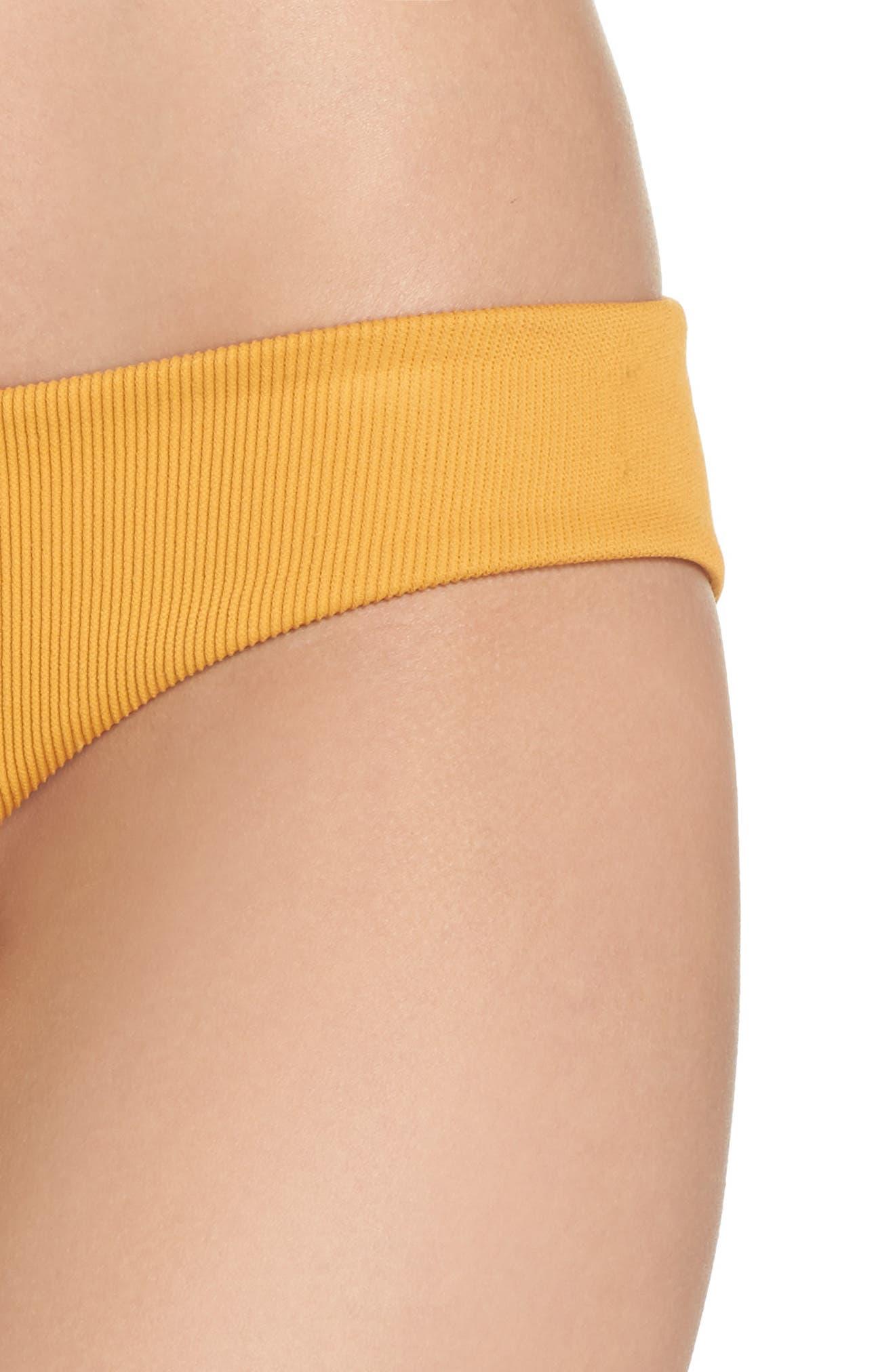 BOYS + ARROWS,                             Charlie Bikini Bottoms,                             Alternate thumbnail 4, color,                             GOLDILOCKS