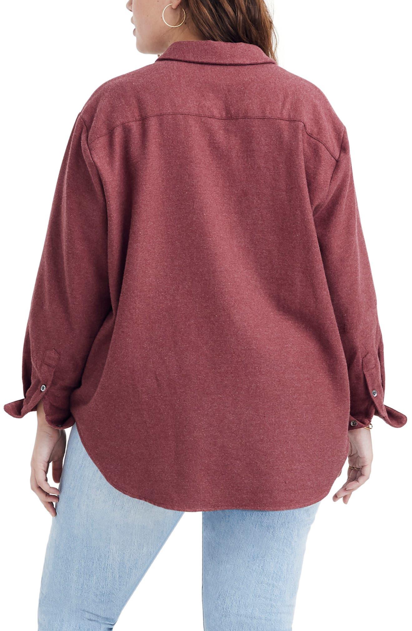 MADEWELL,                             Flannel Sunday Shirt,                             Alternate thumbnail 7, color,                             600