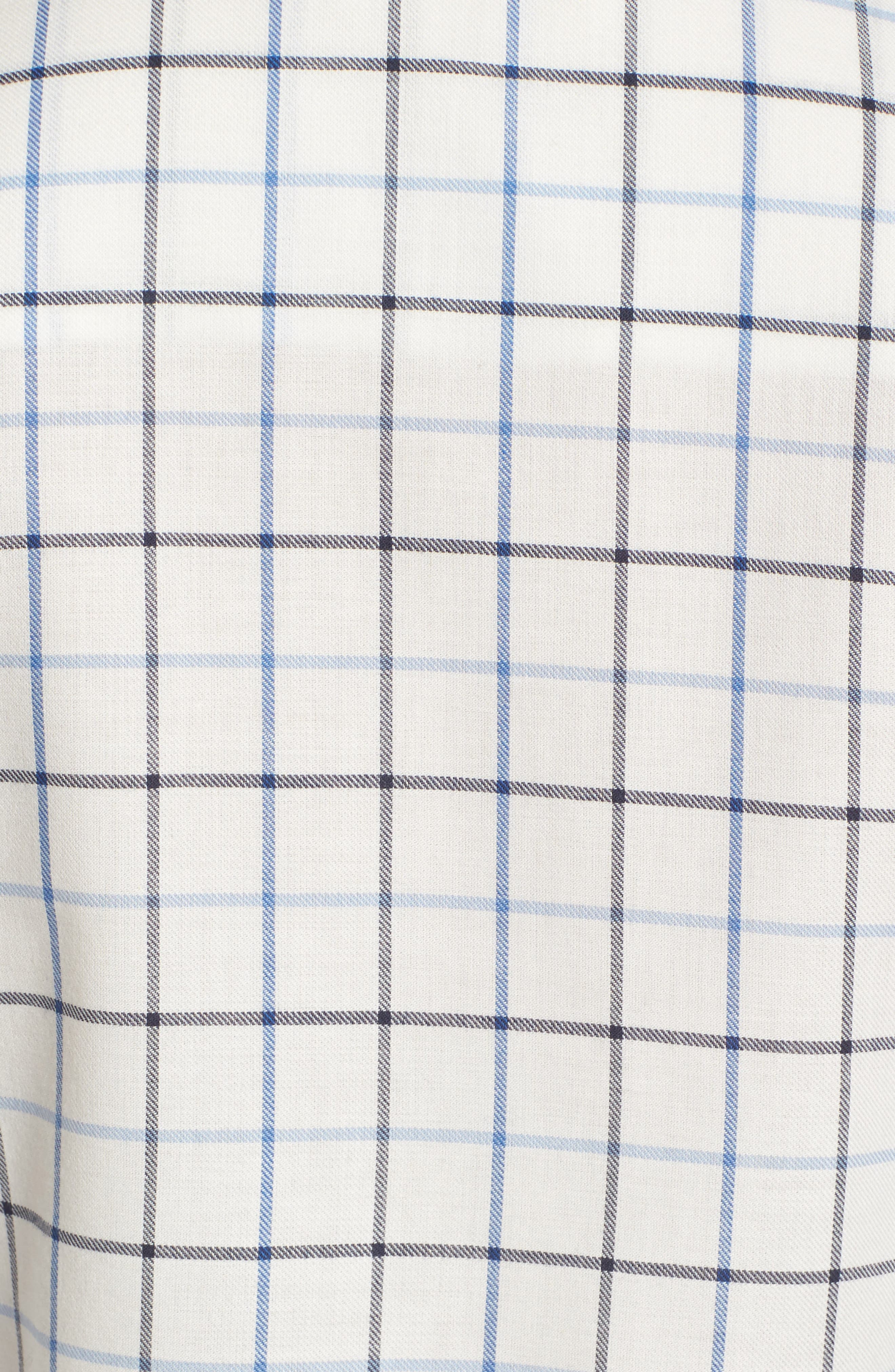 Triplebar Check Shirt,                             Alternate thumbnail 5, color,                             450