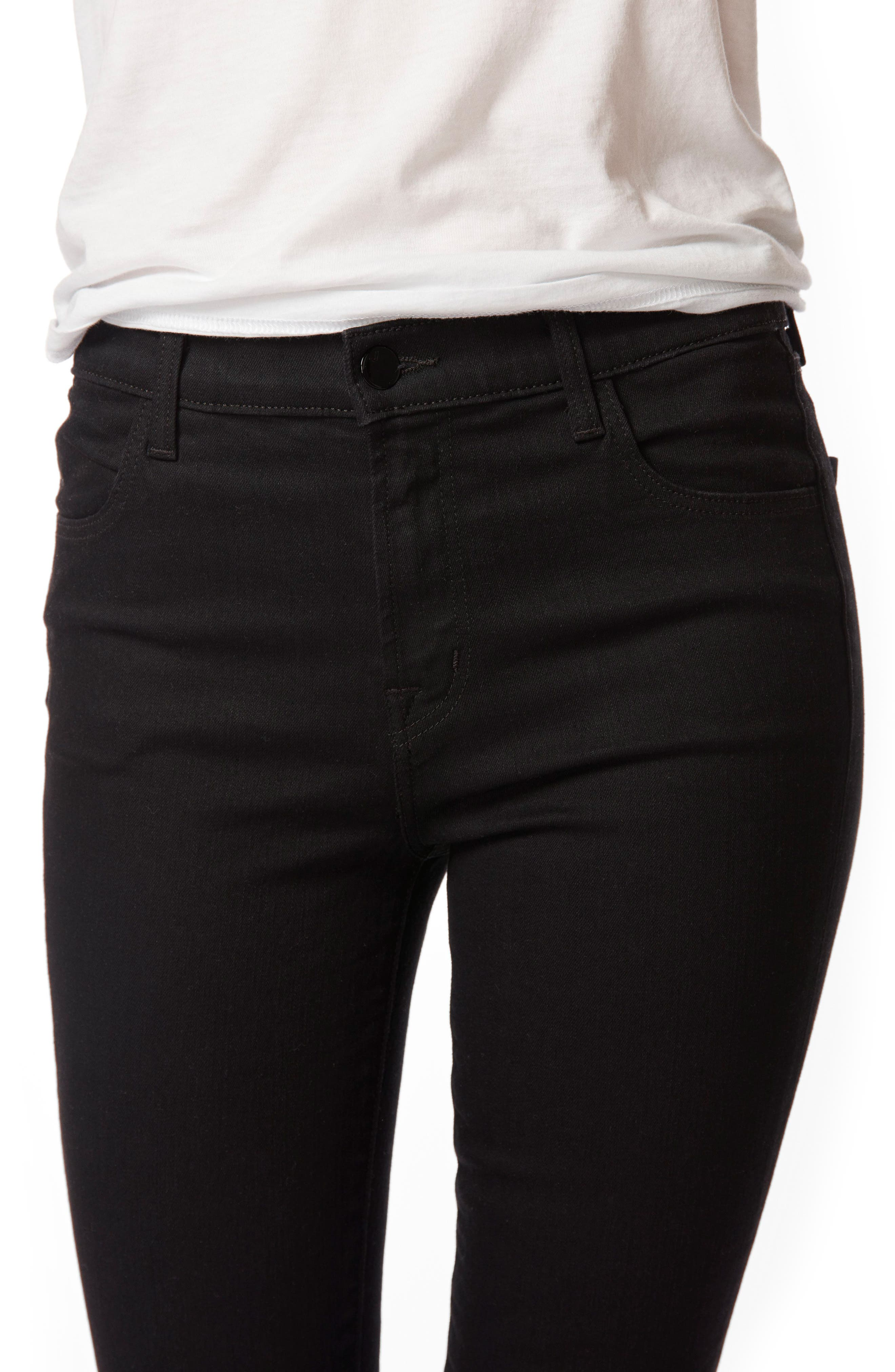 Alana High Waist Crop Skinny Jeans,                             Alternate thumbnail 5, color,