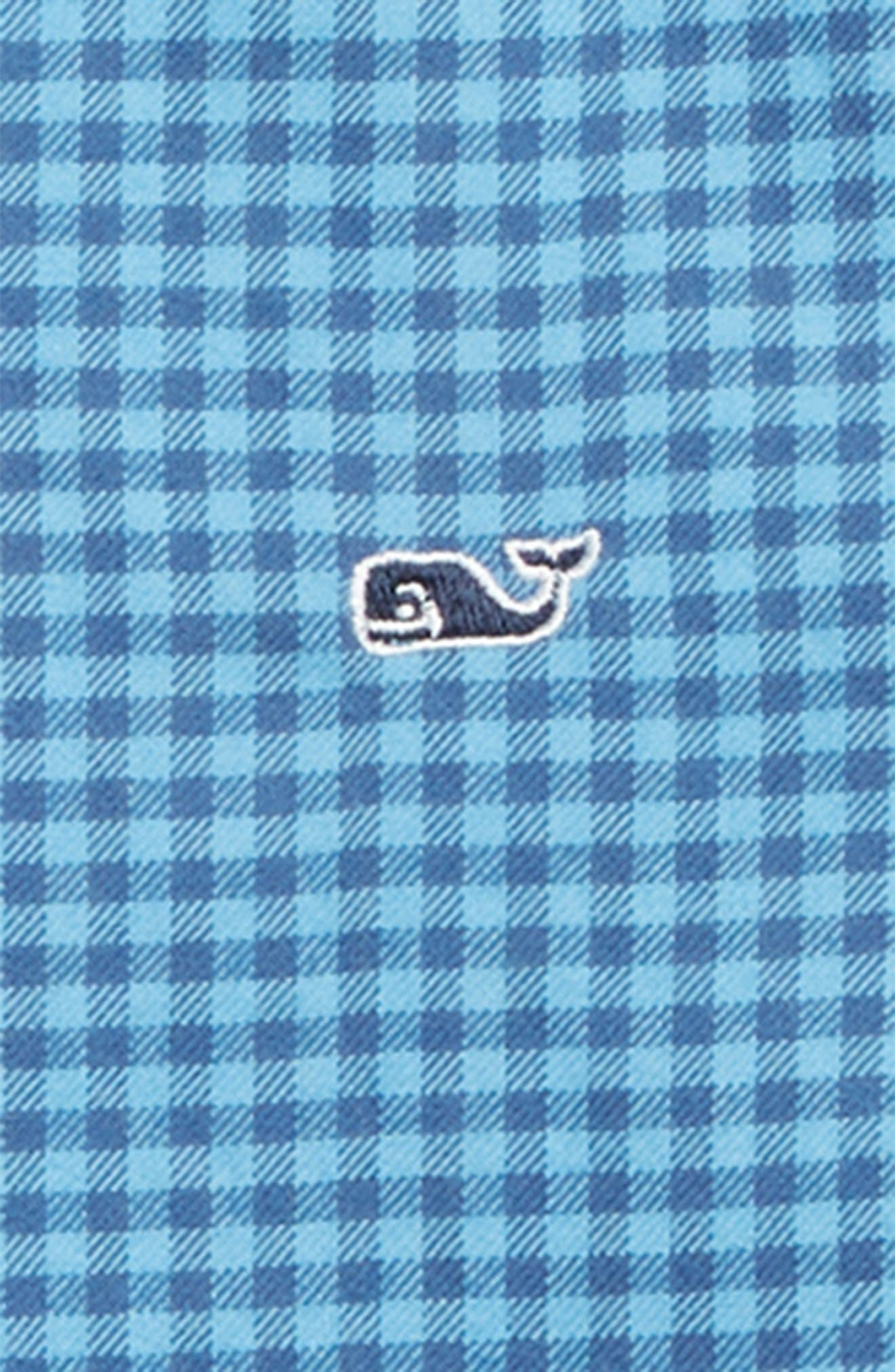 Tradewinds Flannel Whale Shirt,                             Alternate thumbnail 2, color,                             OCEAN BREEZE