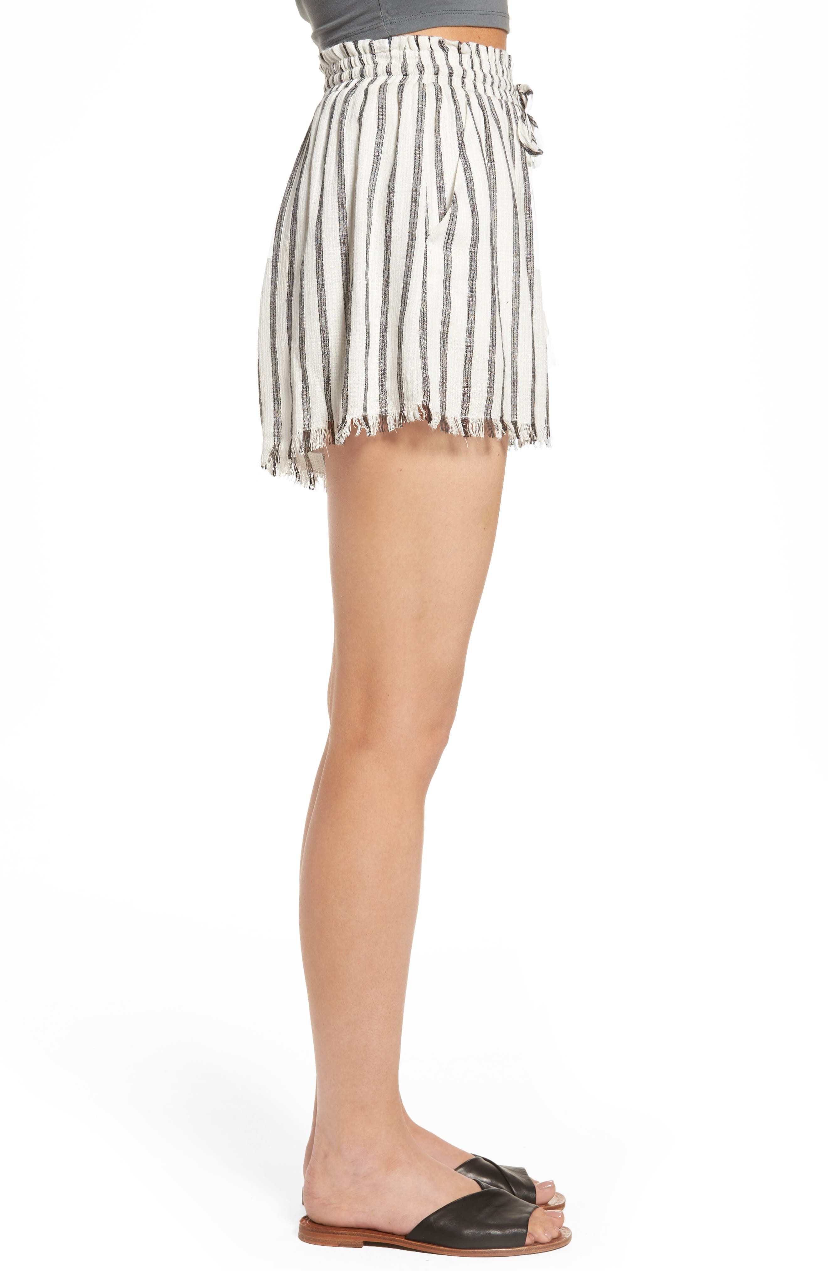 ASTR THE LABEL,                             Lupe Drawstring Shorts,                             Alternate thumbnail 3, color,                             100