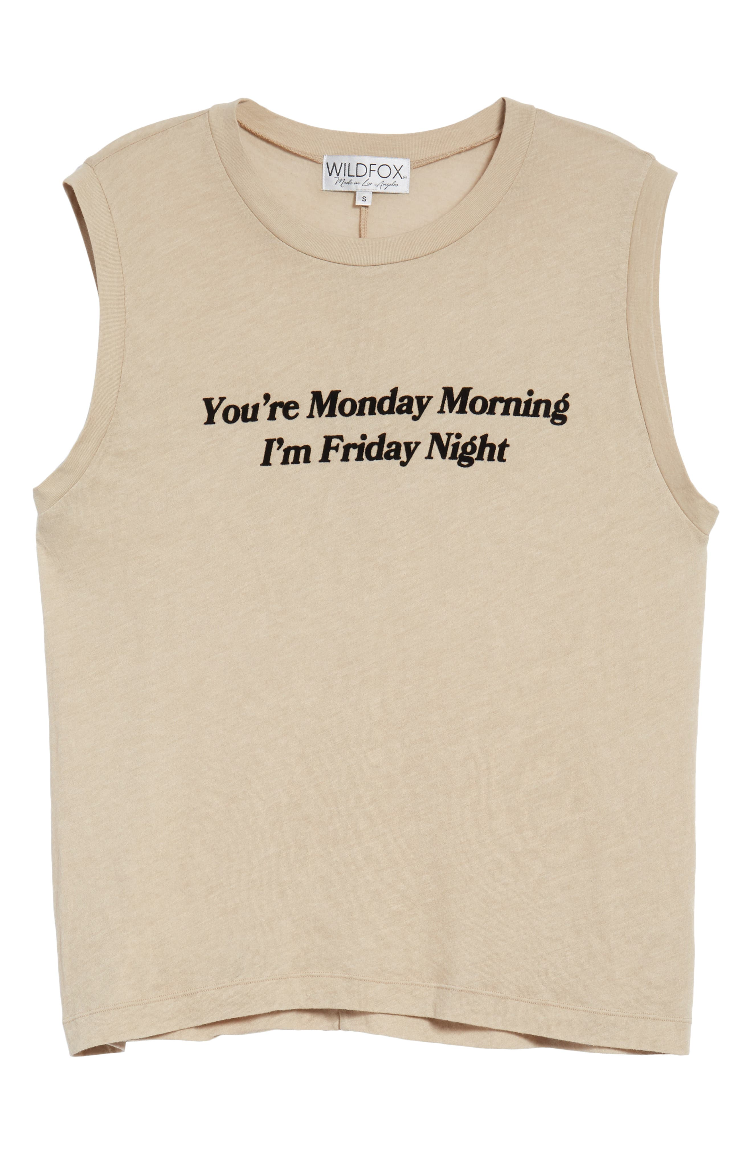Friday Night Vintage Muscle Tank,                             Alternate thumbnail 7, color,                             250