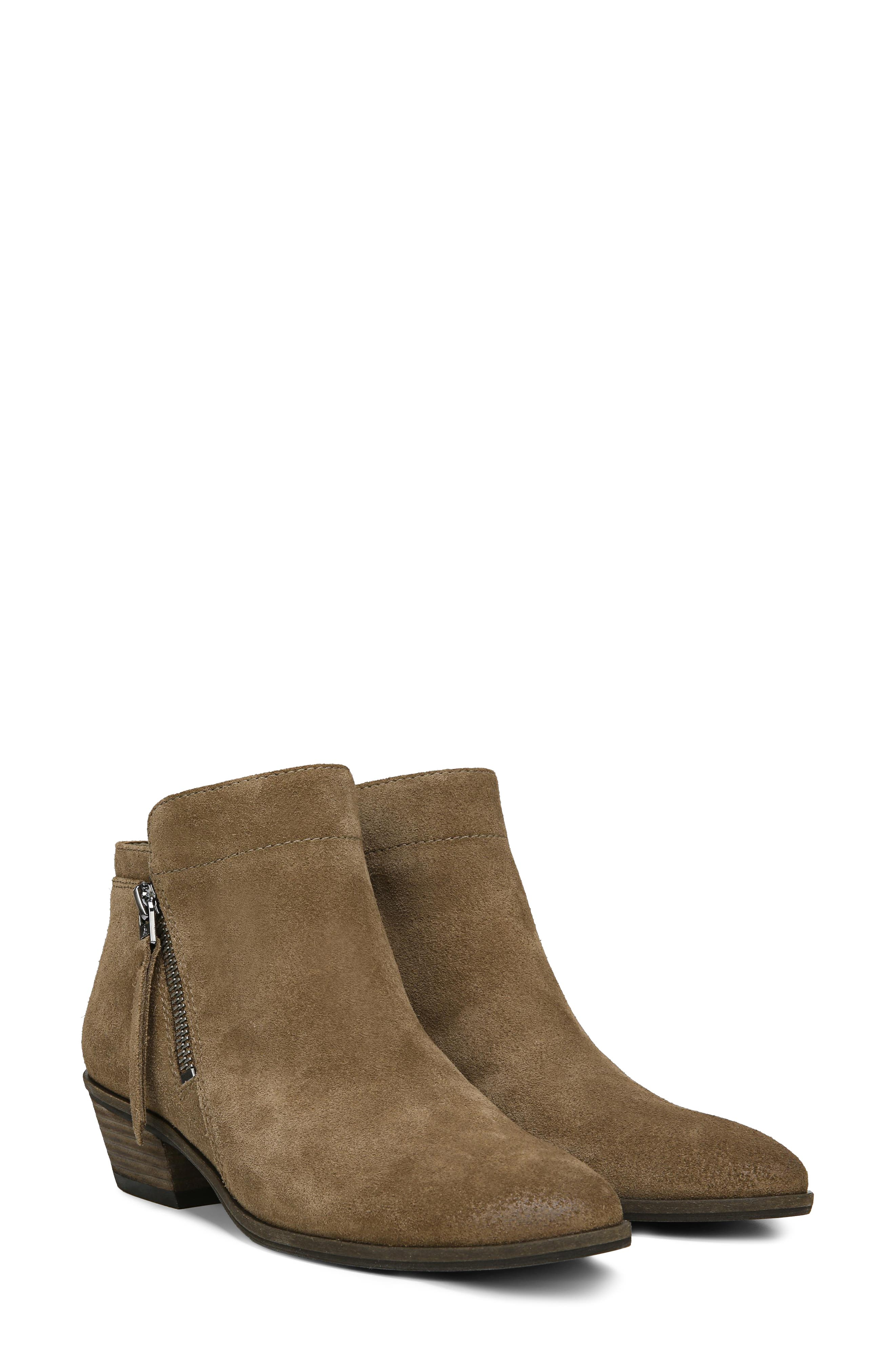 Packer Bootie,                             Alternate thumbnail 7, color,                             DARK TAUPE SUEDE LEATHER