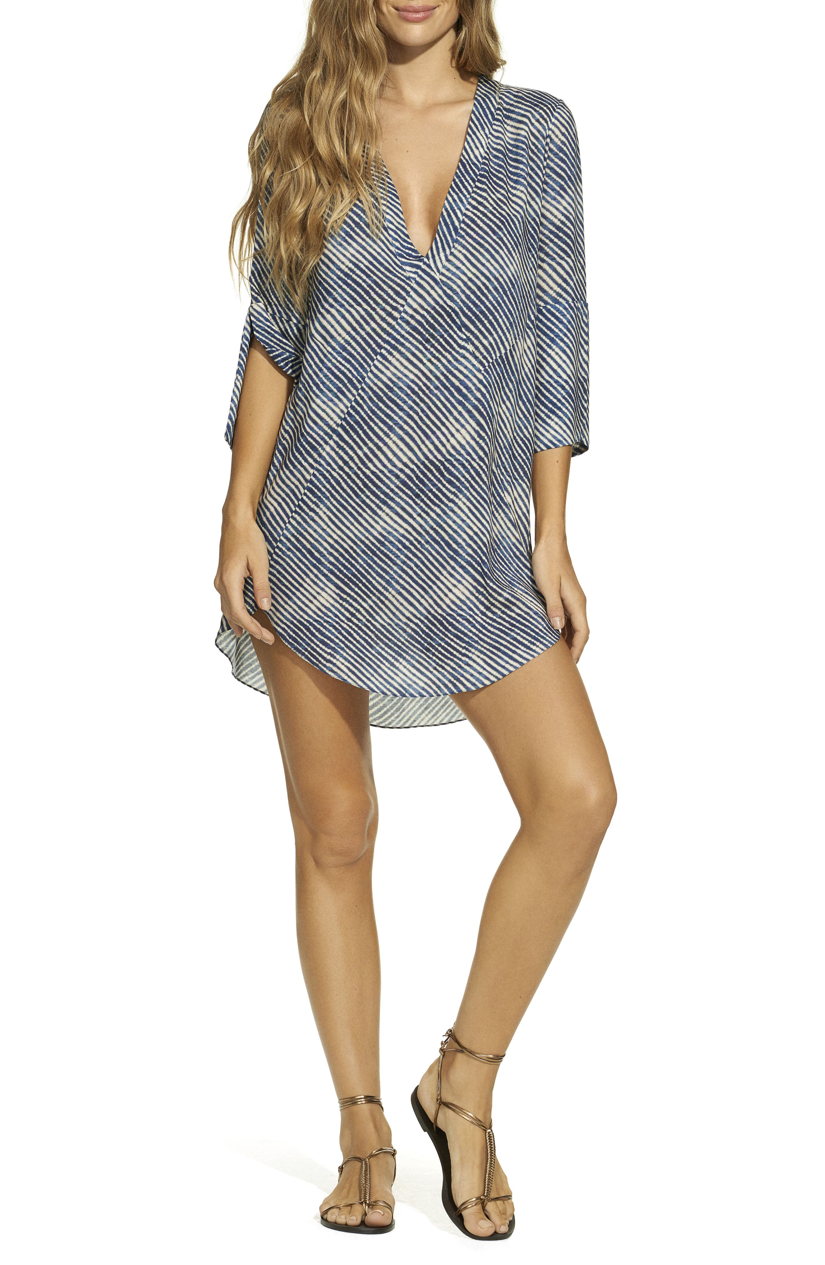 ViX Corales Cover-Up Tunic,                         Main,                         color, 400