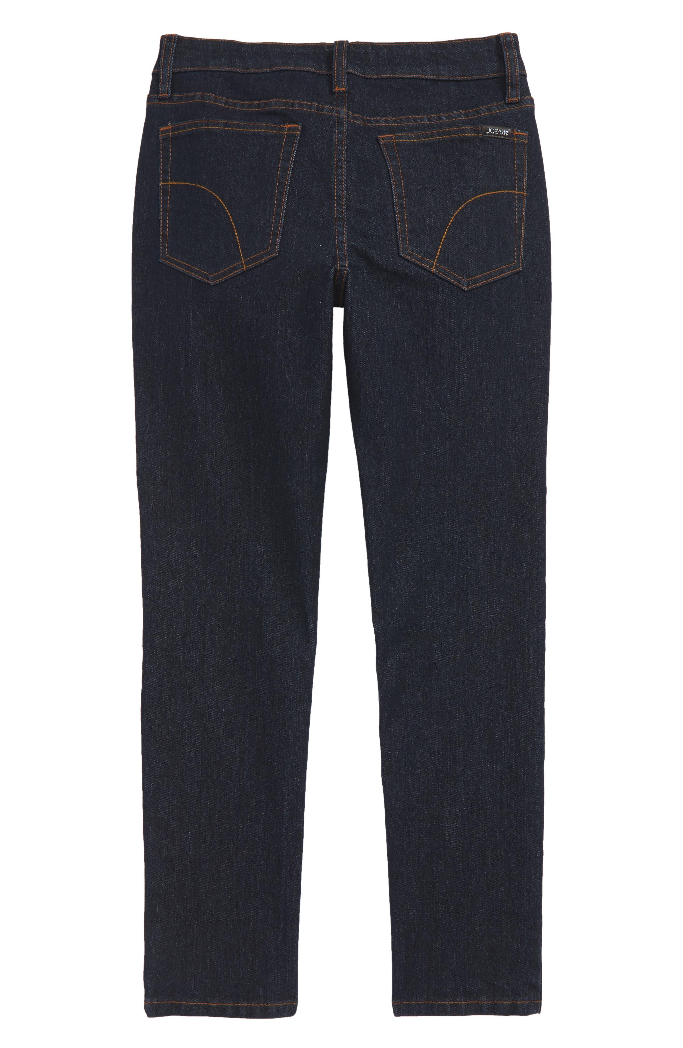 Brixton Straight Leg Stretch Jeans,                             Alternate thumbnail 2, color,                             RINSE