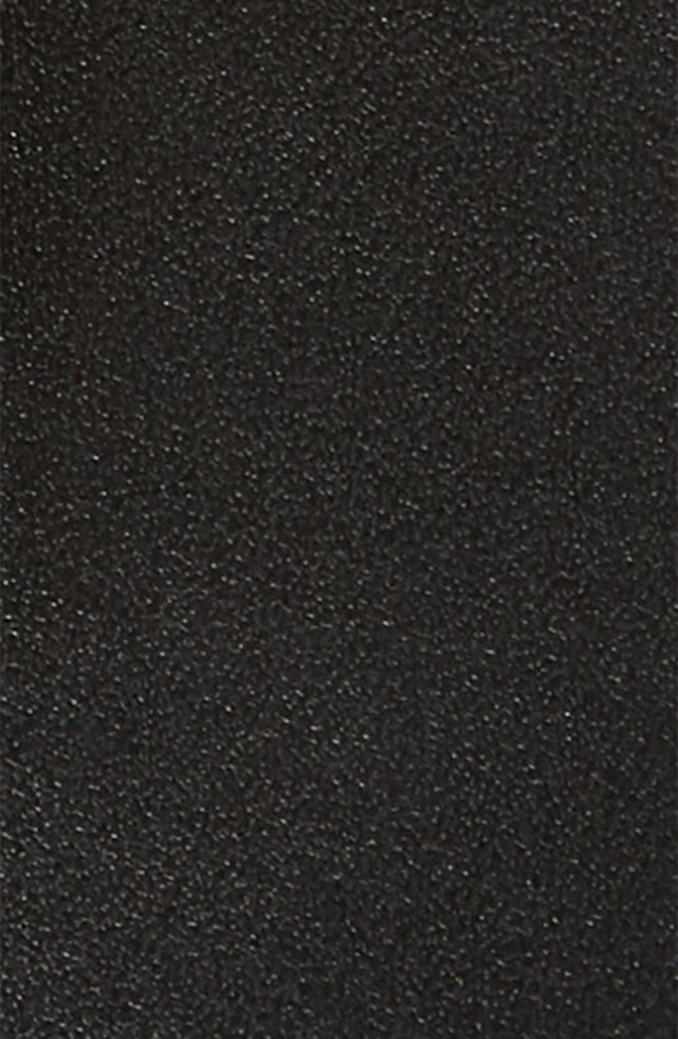 SALVATORE FERRAGAMO,                             Spike Gancini Leather Belt,                             Alternate thumbnail 2, color,                             001