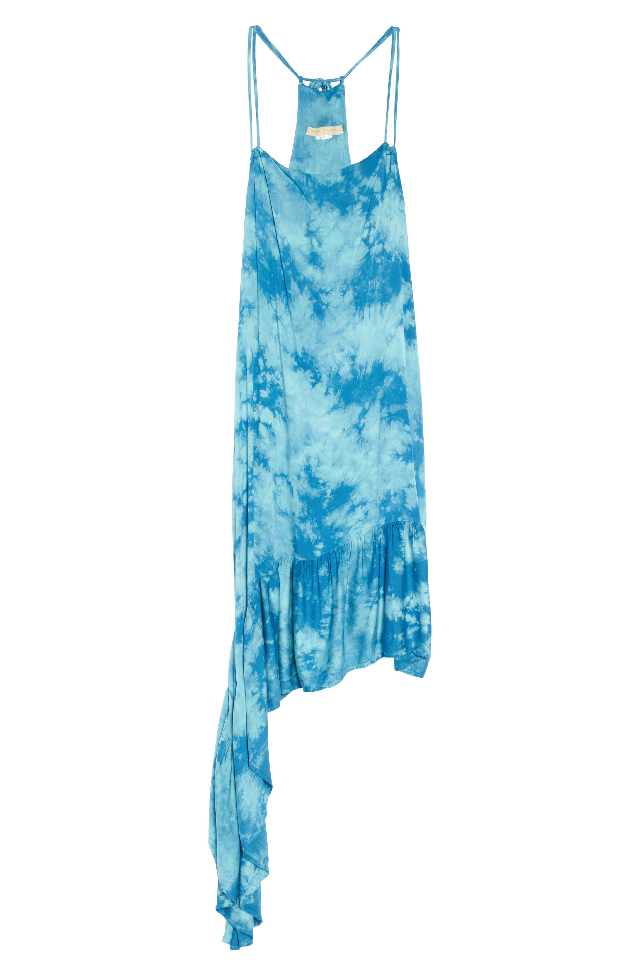 Crystal Forest Clementine Cover-Up Dress,                             Alternate thumbnail 6, color,                             401