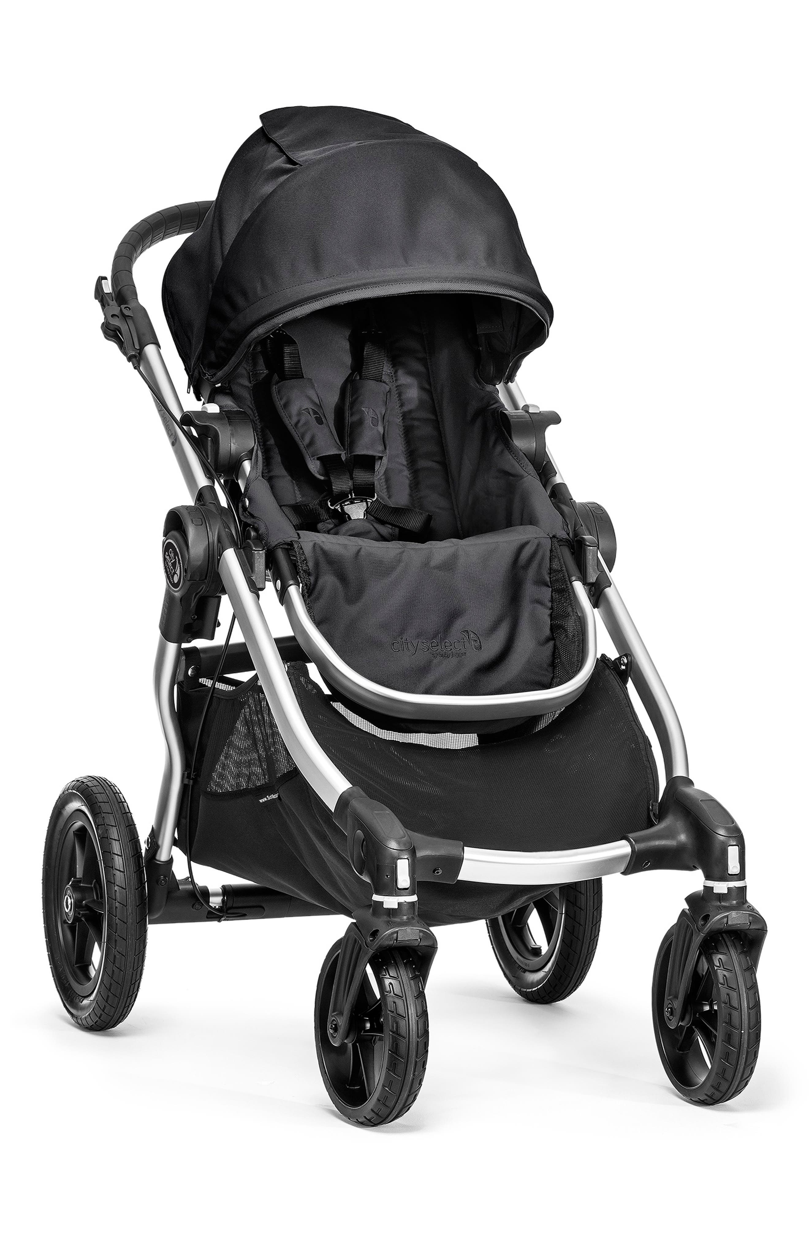 City Select<sup>®</sup> Stroller & Belly Bar,                             Main thumbnail 1, color,                             ONYX
