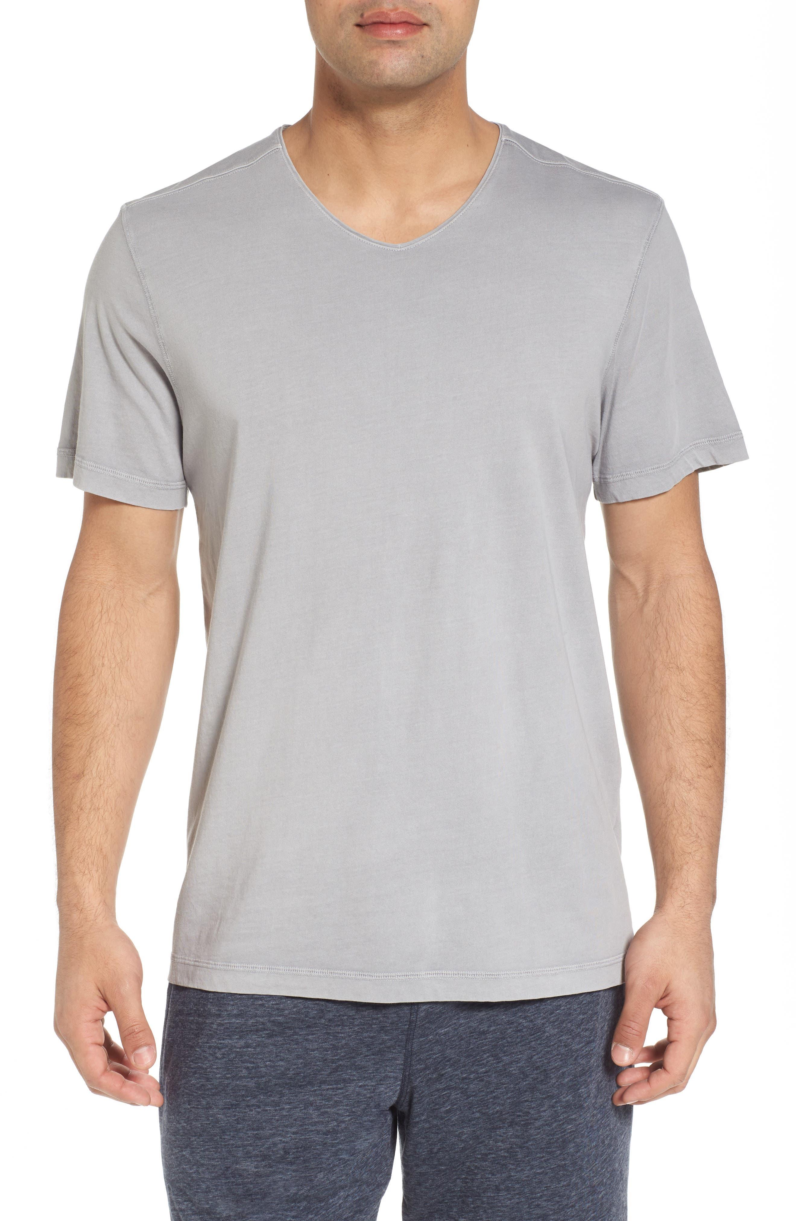 Peruvian Pima Cotton Crewneck T-Shirt,                             Main thumbnail 1, color,                             020