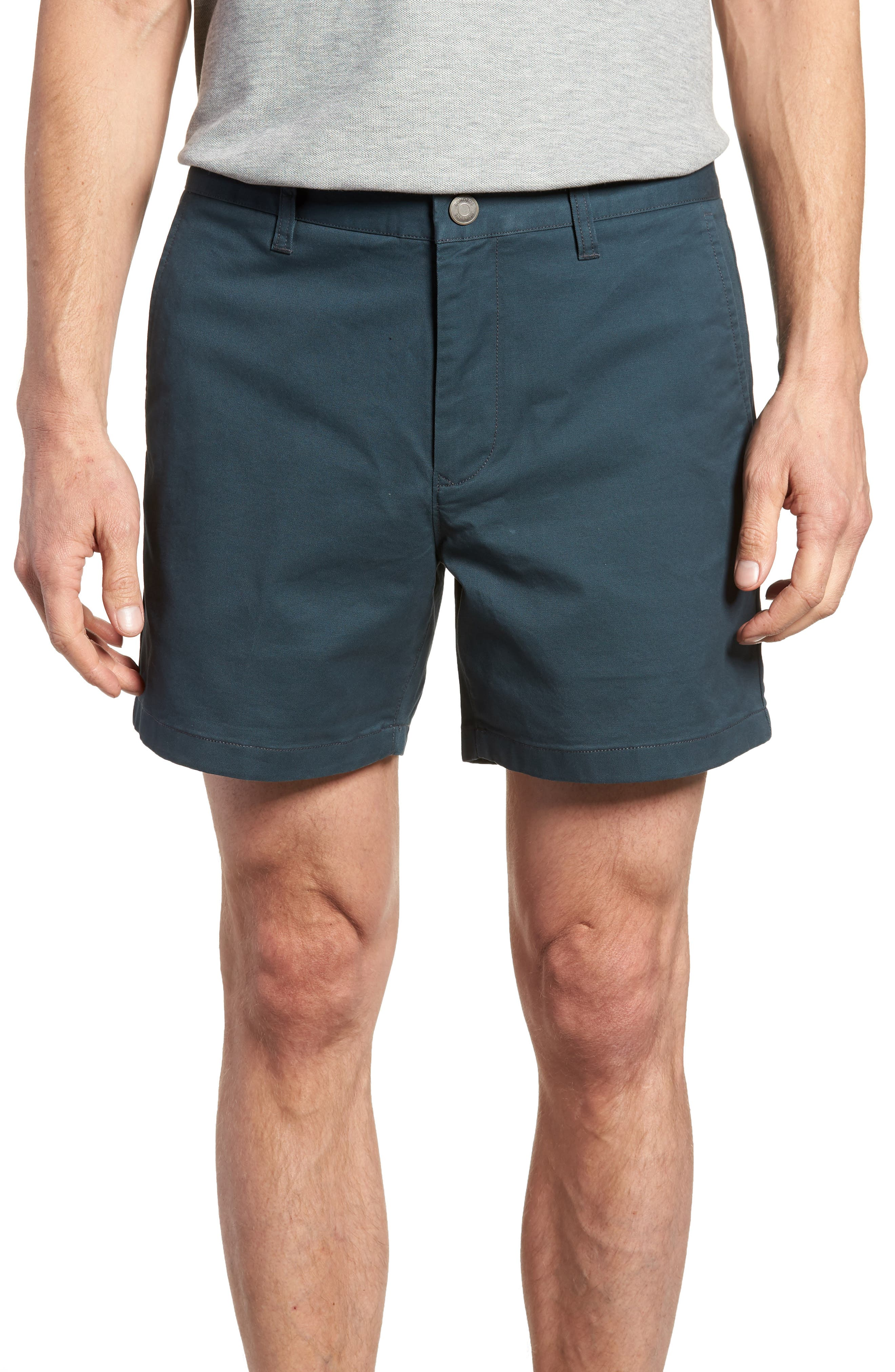 Stretch Washed Chino 5-Inch Shorts,                             Main thumbnail 8, color,