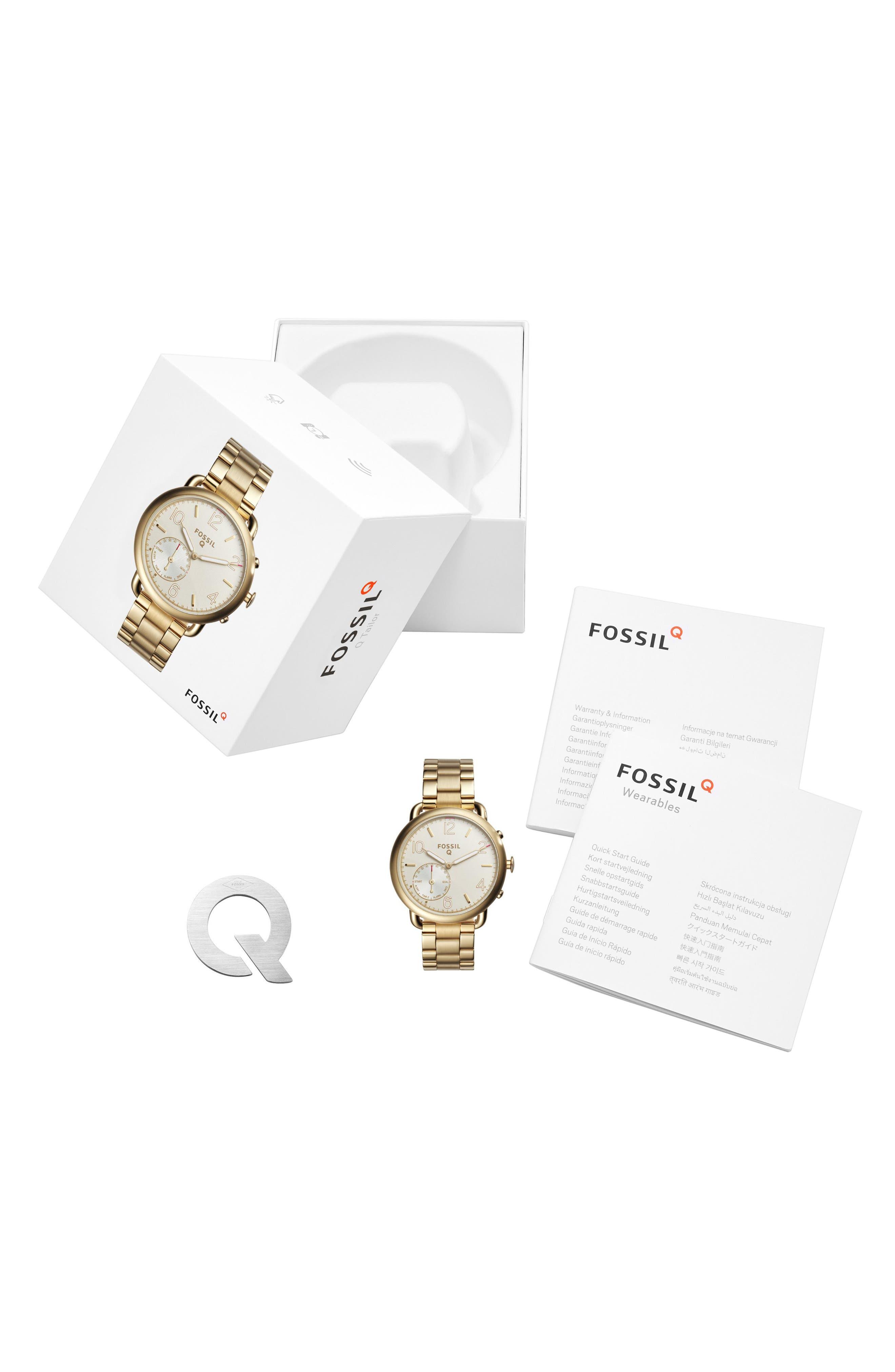 Tailor Smart Bracelet Watch, 40mm,                             Alternate thumbnail 4, color,