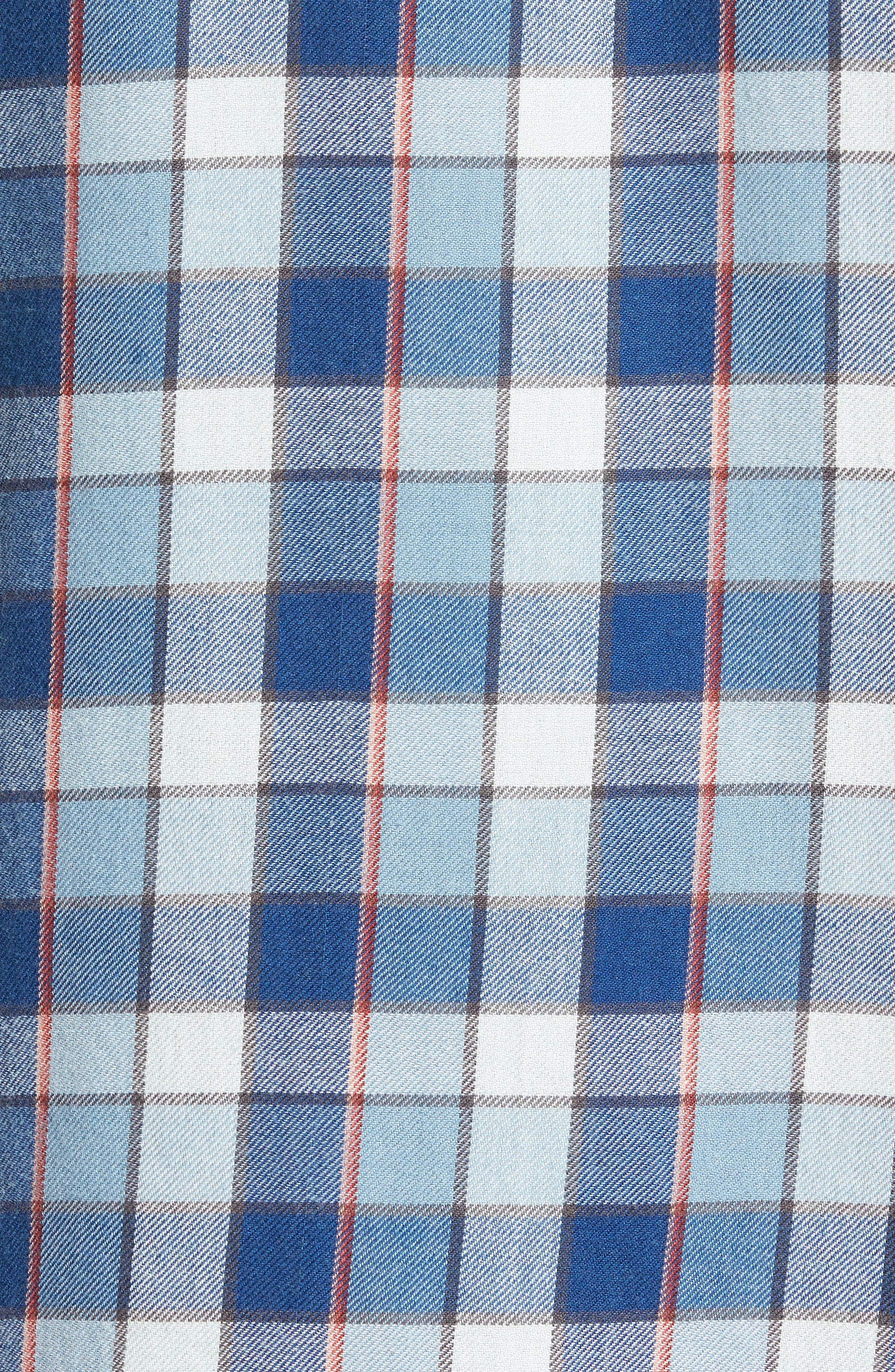 Bilabong Freemont Flannel Shirt,                             Alternate thumbnail 5, color,                             428