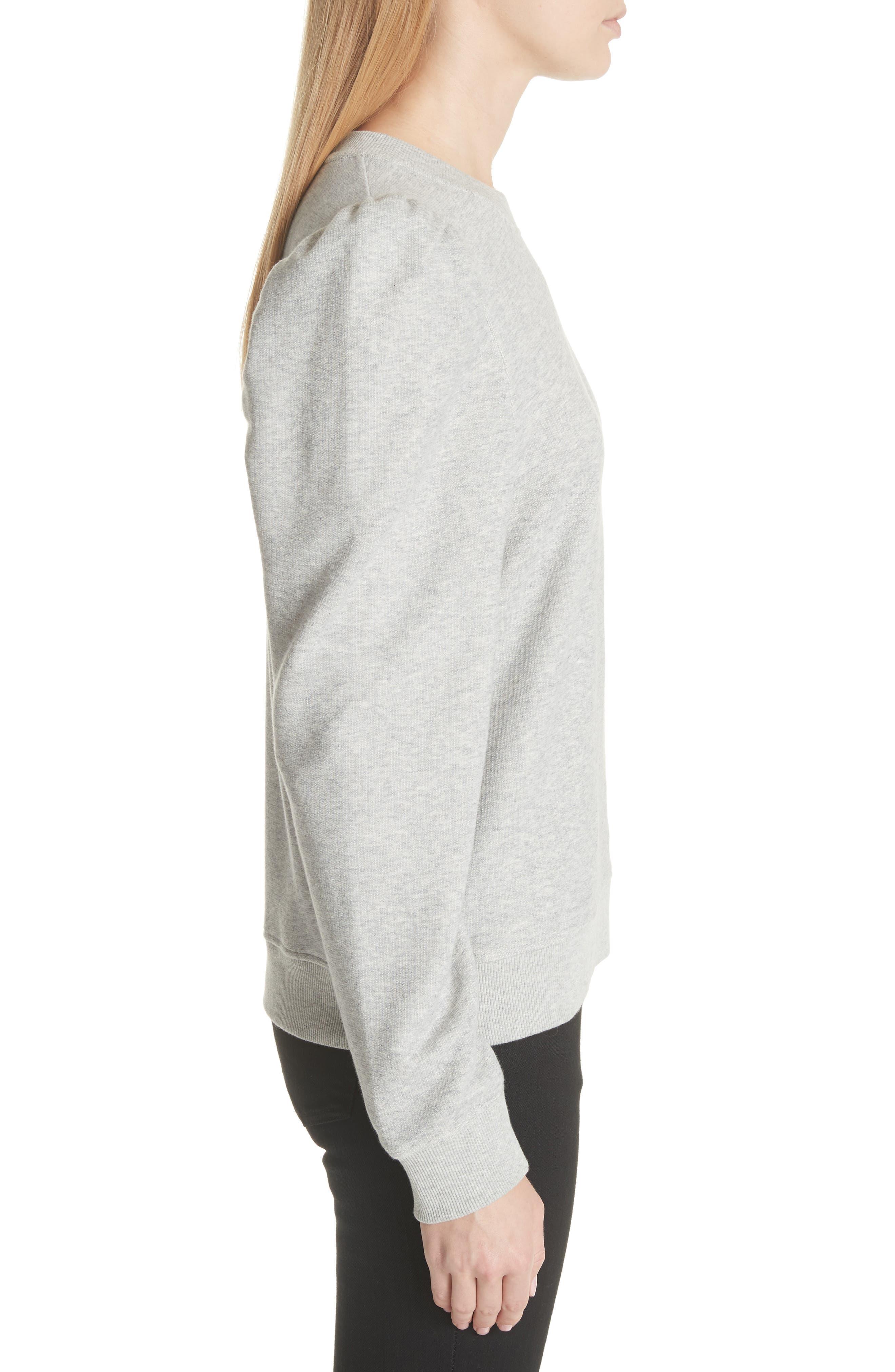 Puff Shoulder Sweater,                             Alternate thumbnail 3, color,                             030