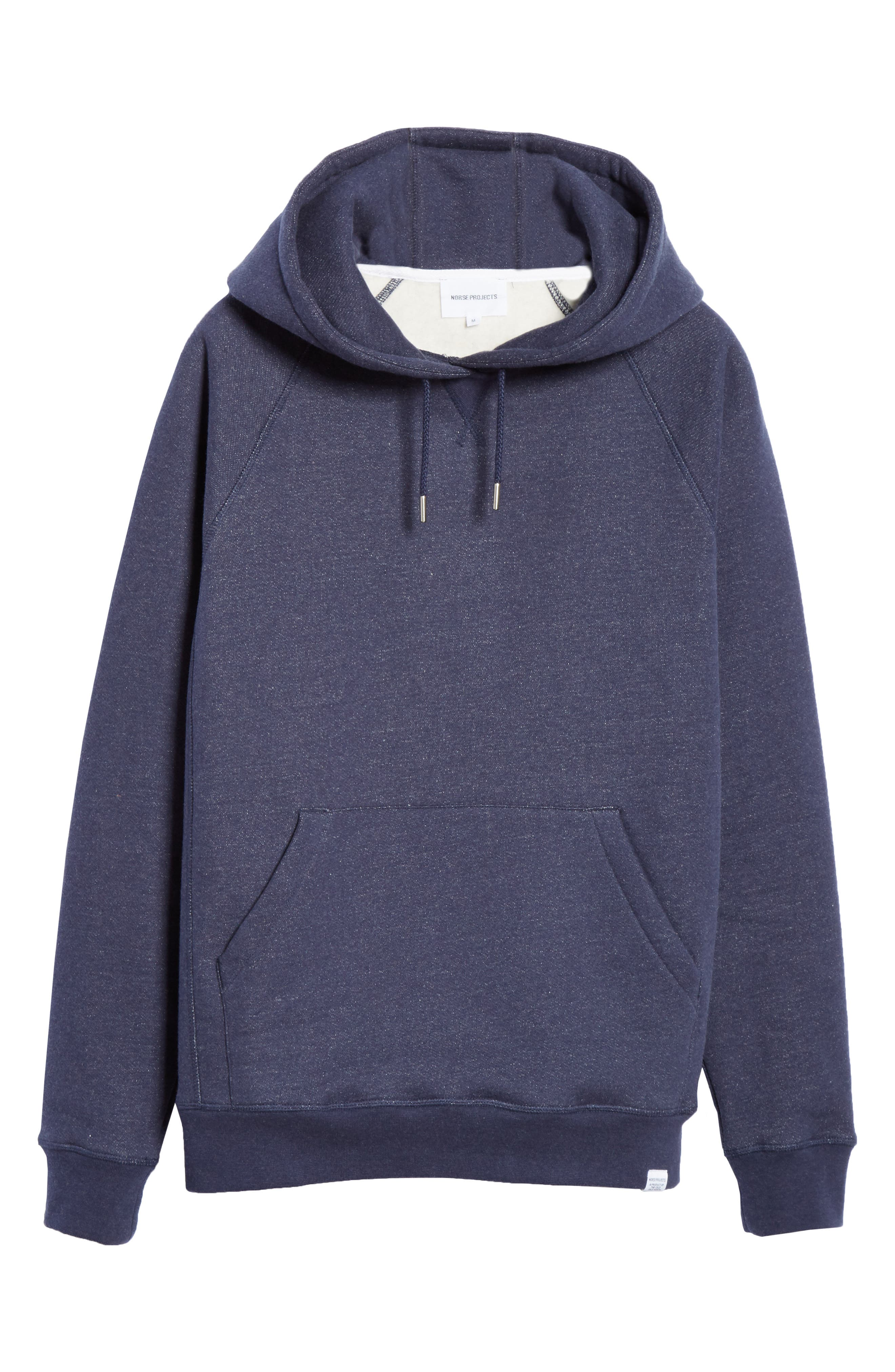 NORSE PROJECTS,                             Ketel Hoodie,                             Alternate thumbnail 6, color,                             DARK NAVY